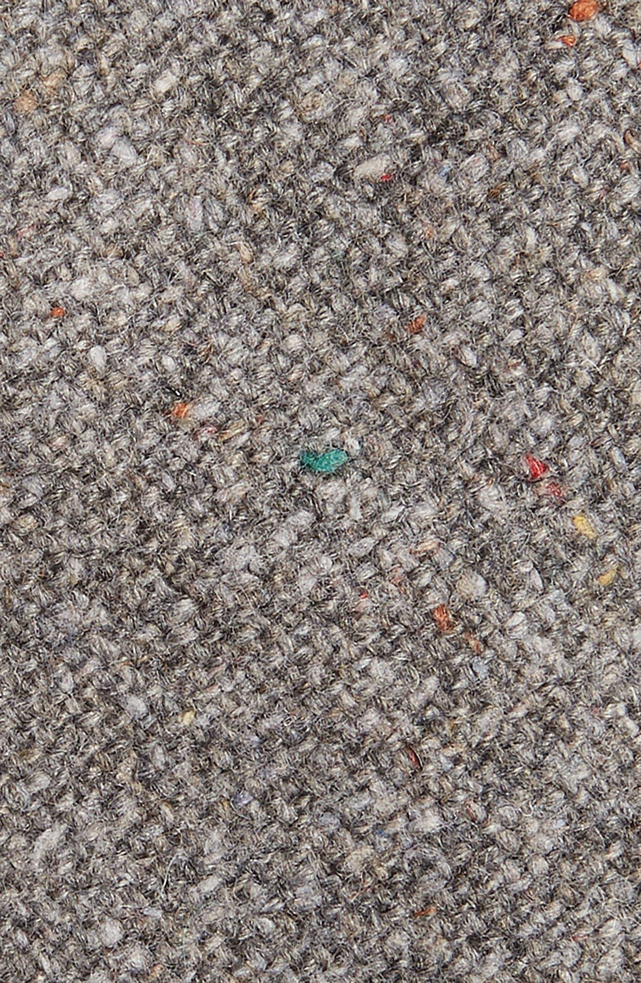 Beaufort Solid Wool Blend Tie,                             Alternate thumbnail 2, color,                             020