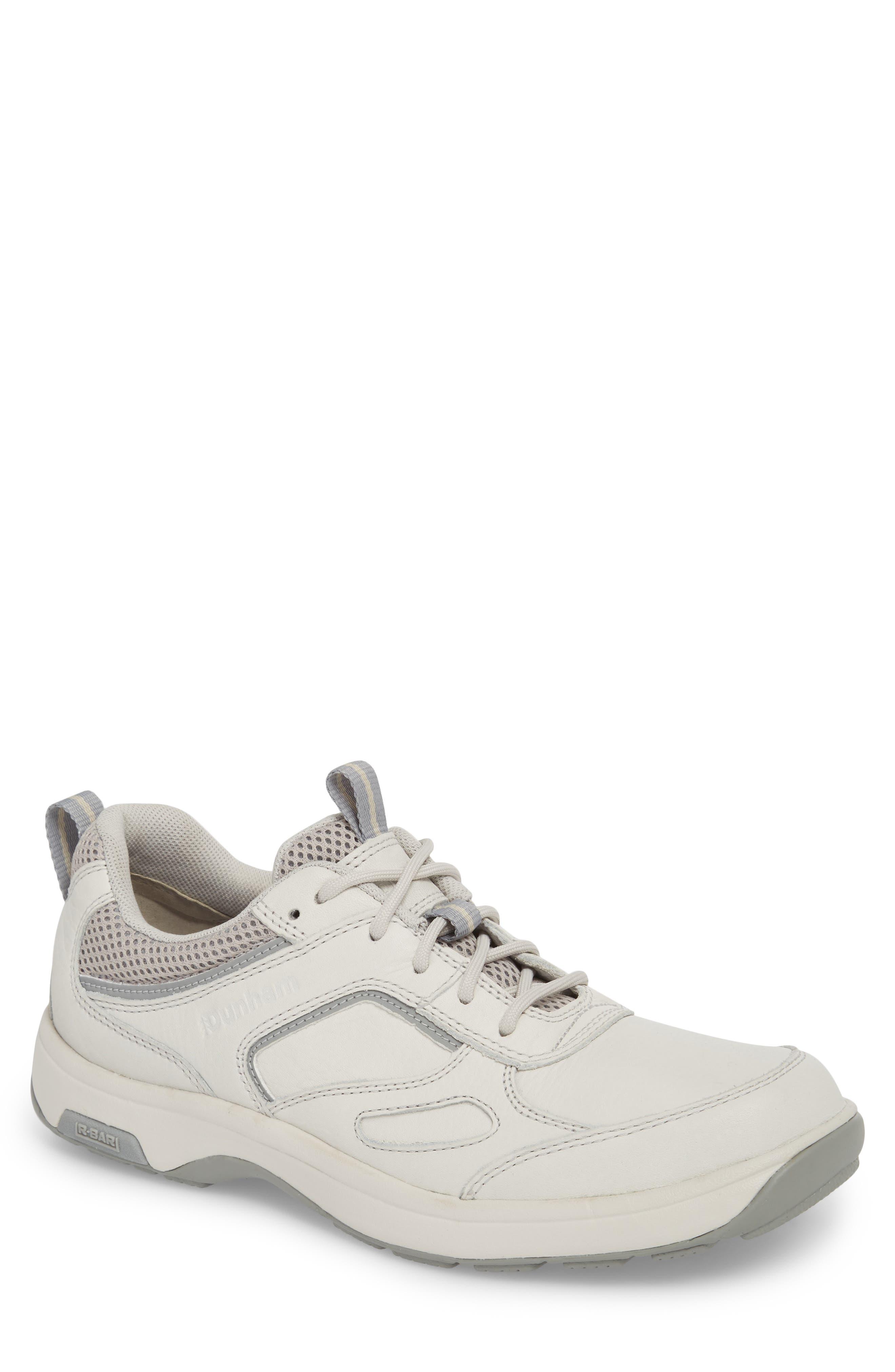 Dunham 8000 Uball Sneaker, White