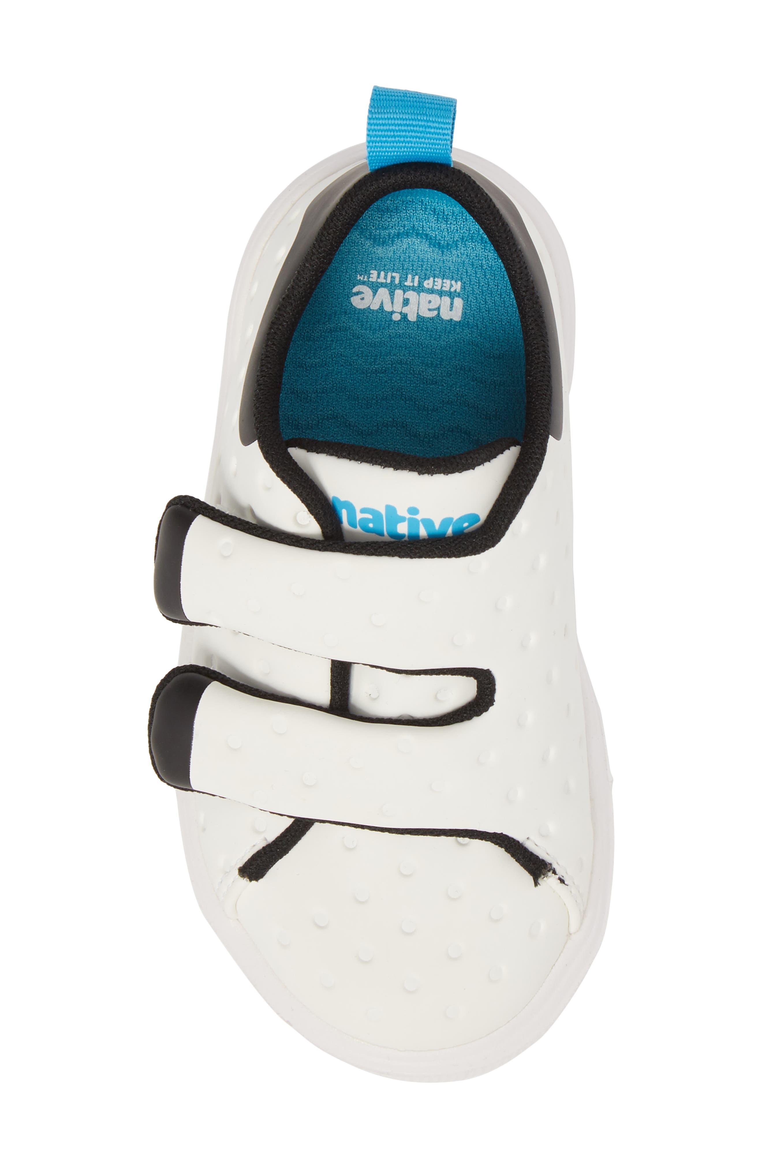 Monaco Sneaker,                             Alternate thumbnail 5, color,                             SHELL WHITE/ JIFFY BLACK