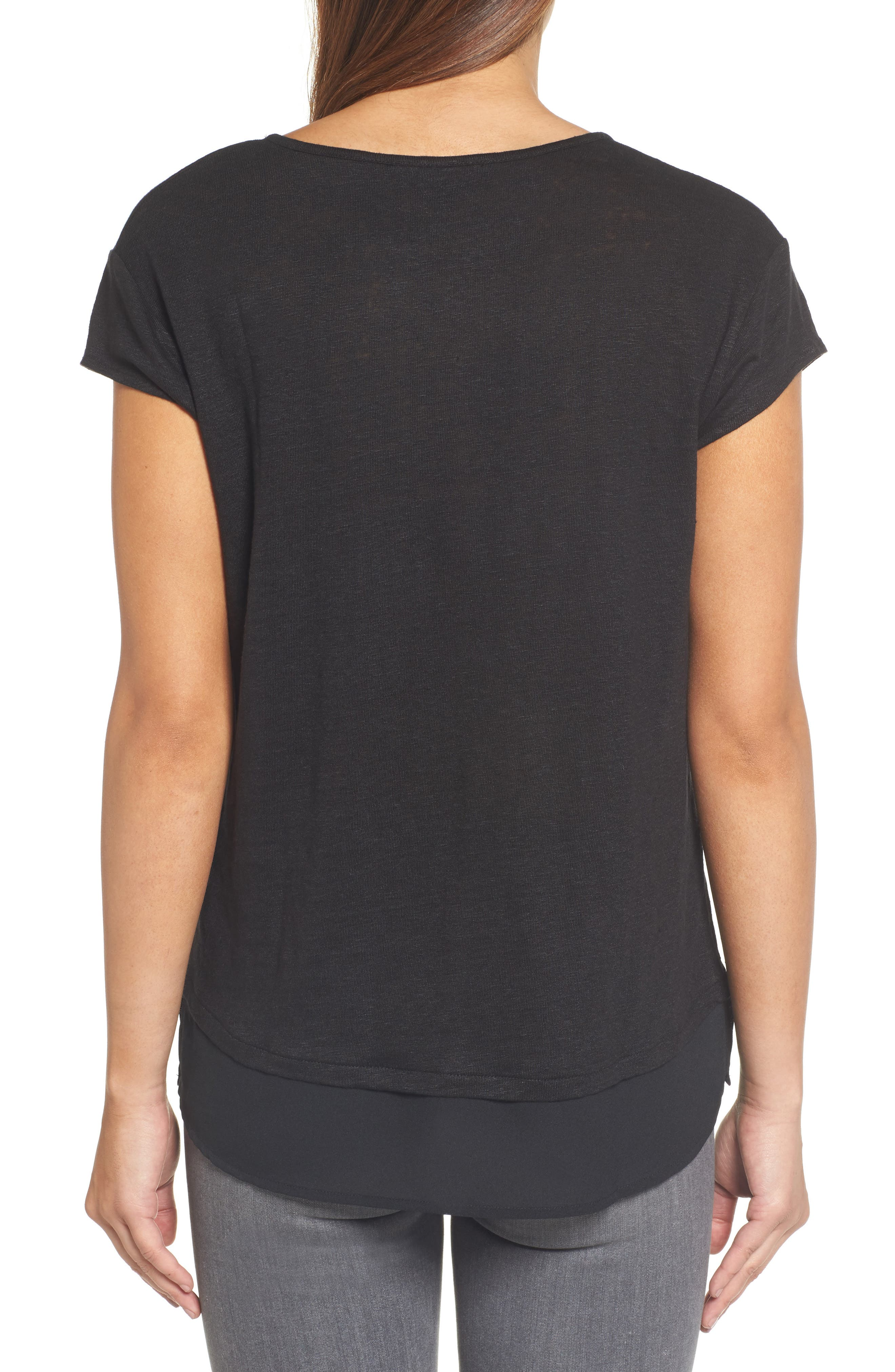 City Mix Layered Look Tee,                             Alternate thumbnail 51, color,