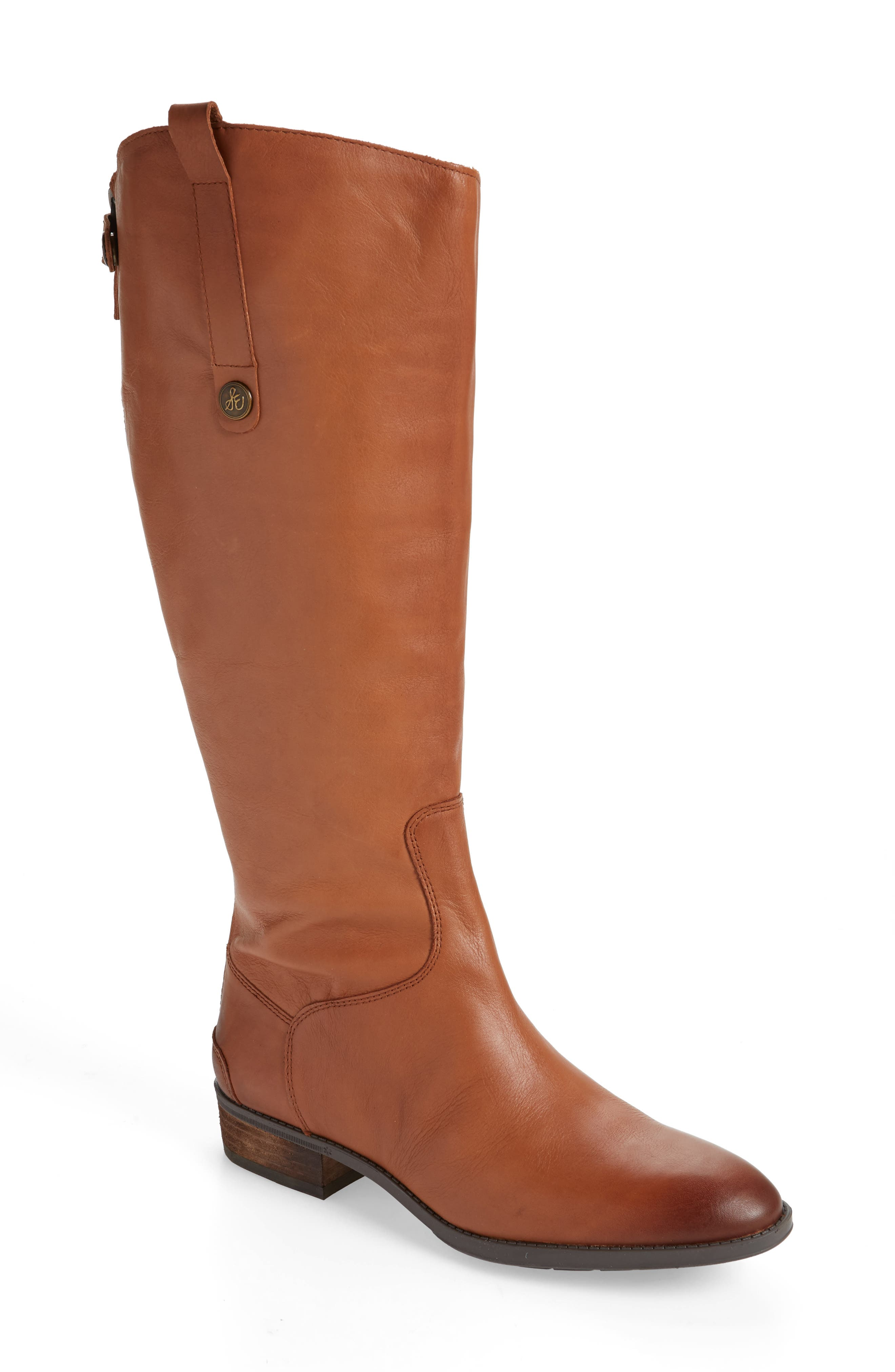 Sam Edelman Penny Boot Wide Calf- Brown
