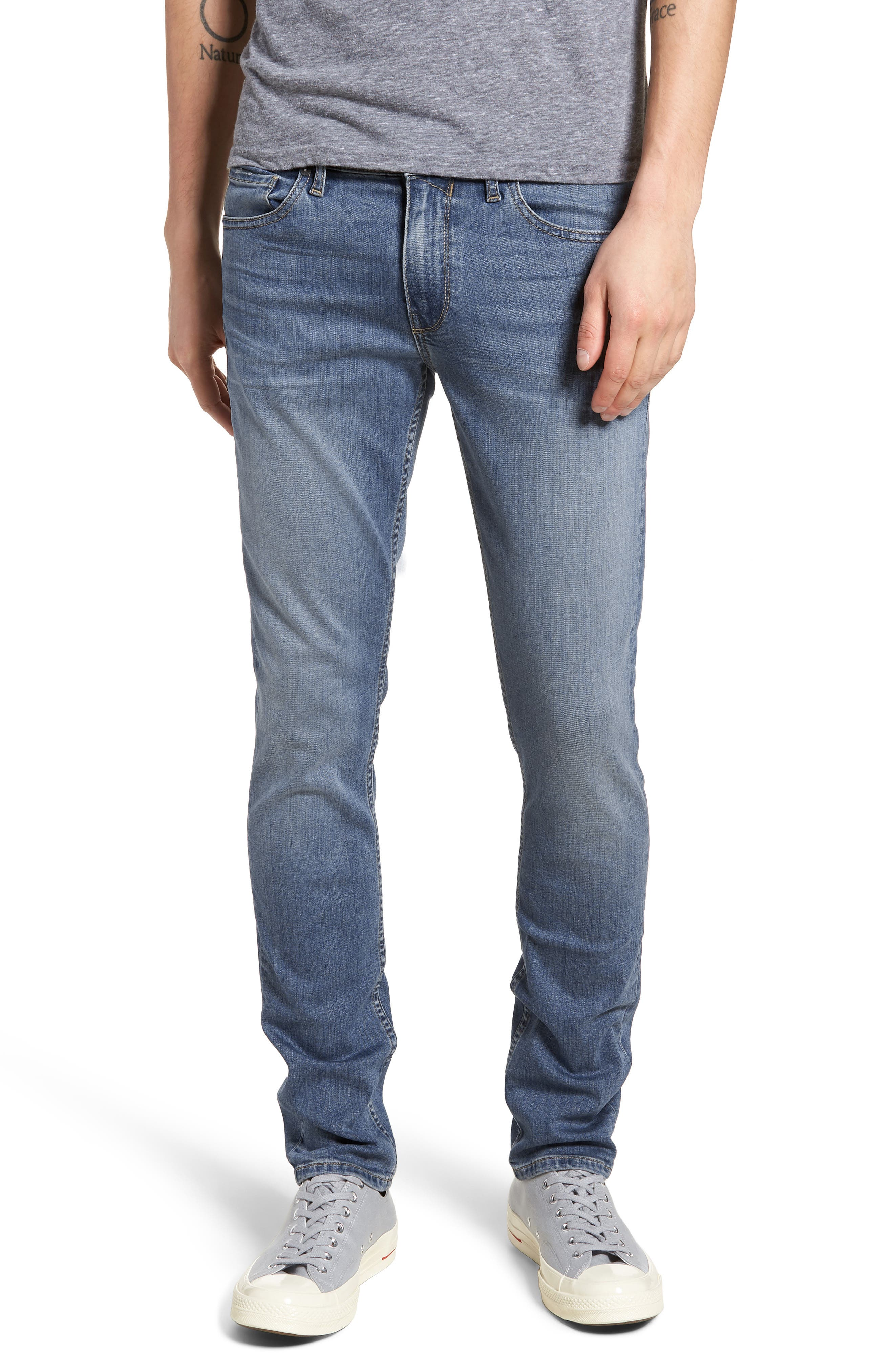 Croft Skinny Fit Jeans,                         Main,                         color, 400