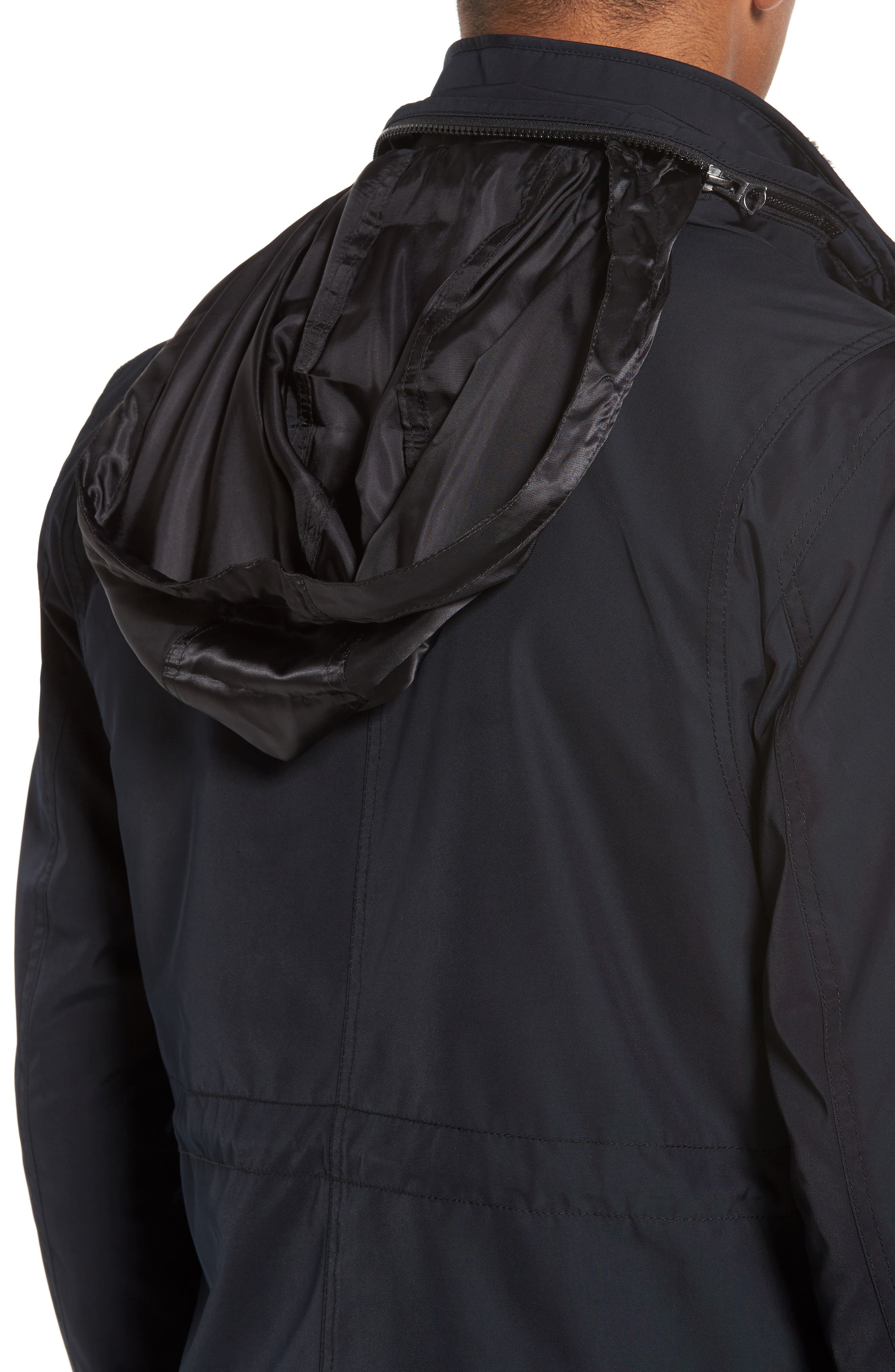 Onick Water Repellent 3-in-1 Field Jacket,                             Alternate thumbnail 4, color,                             001