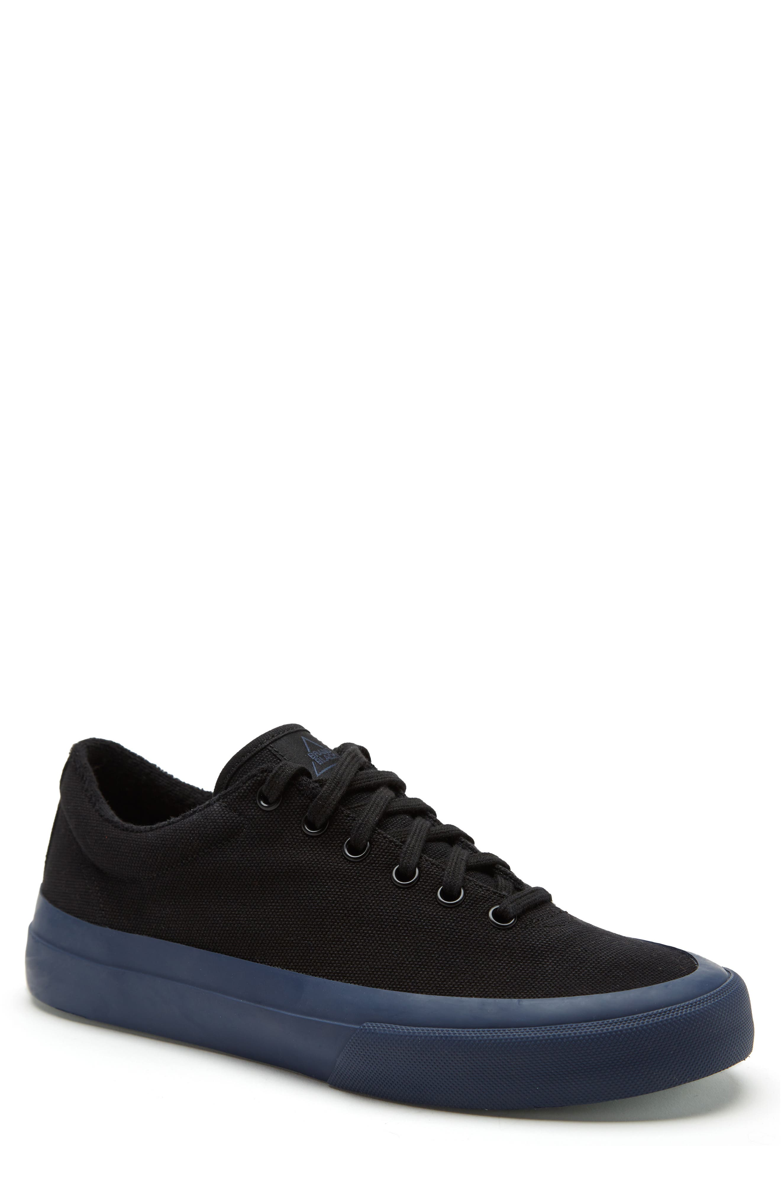 Vesta Low Top Sneaker,                             Main thumbnail 1, color,                             BLACK/ NAVY