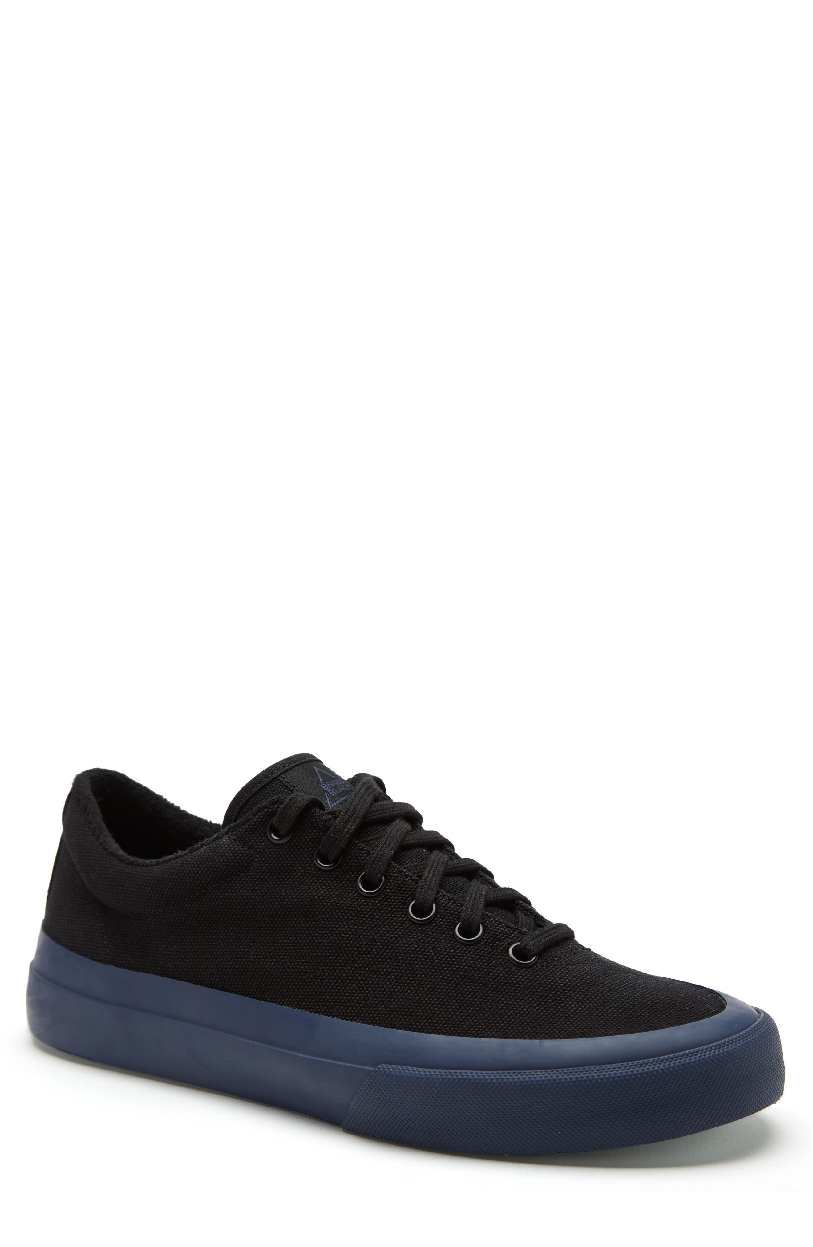 Vesta Low Top Sneaker,                         Main,                         color, BLACK/ NAVY