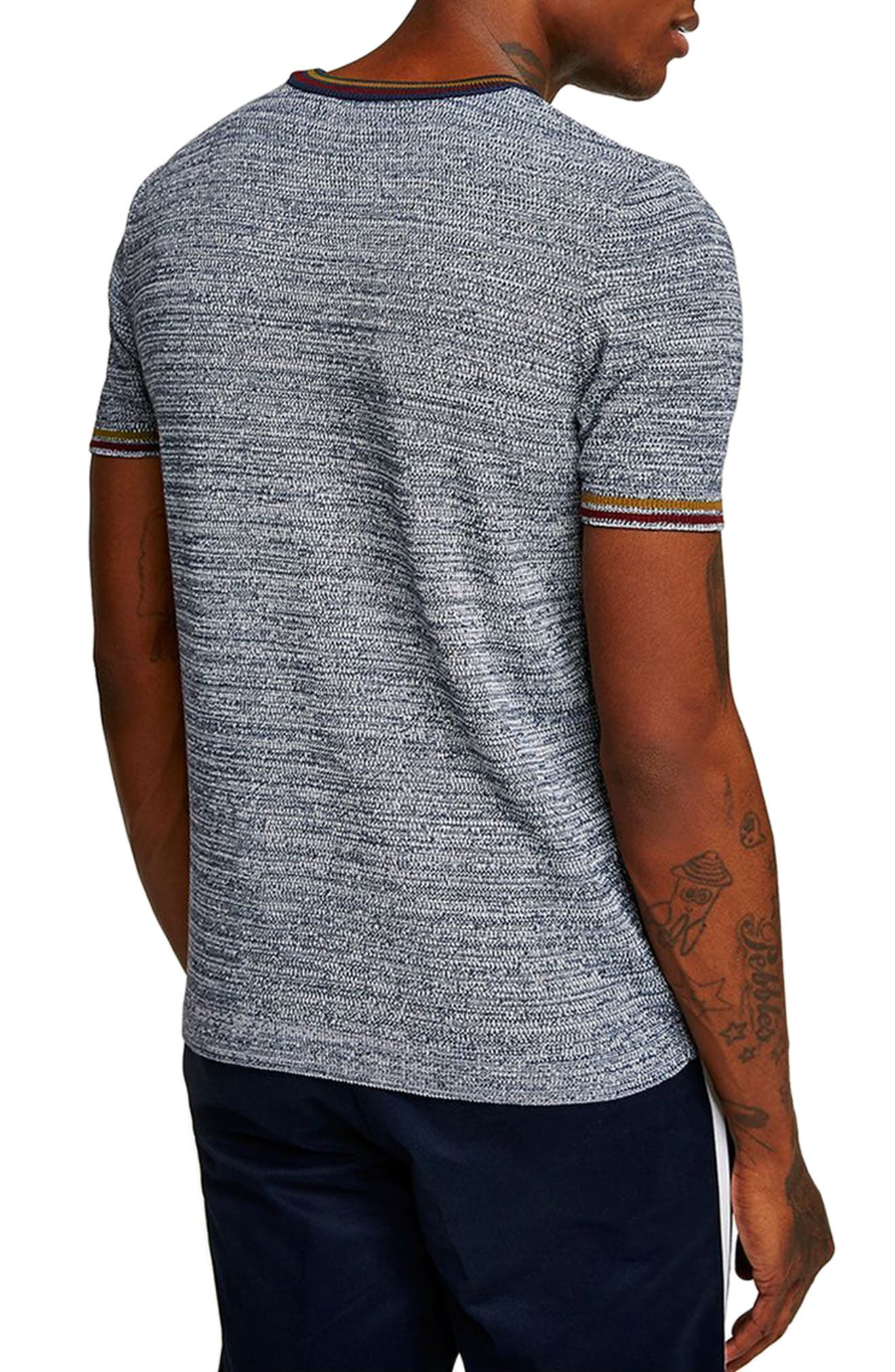 Slim Fit Knit T-Shirt,                             Alternate thumbnail 2, color,                             020
