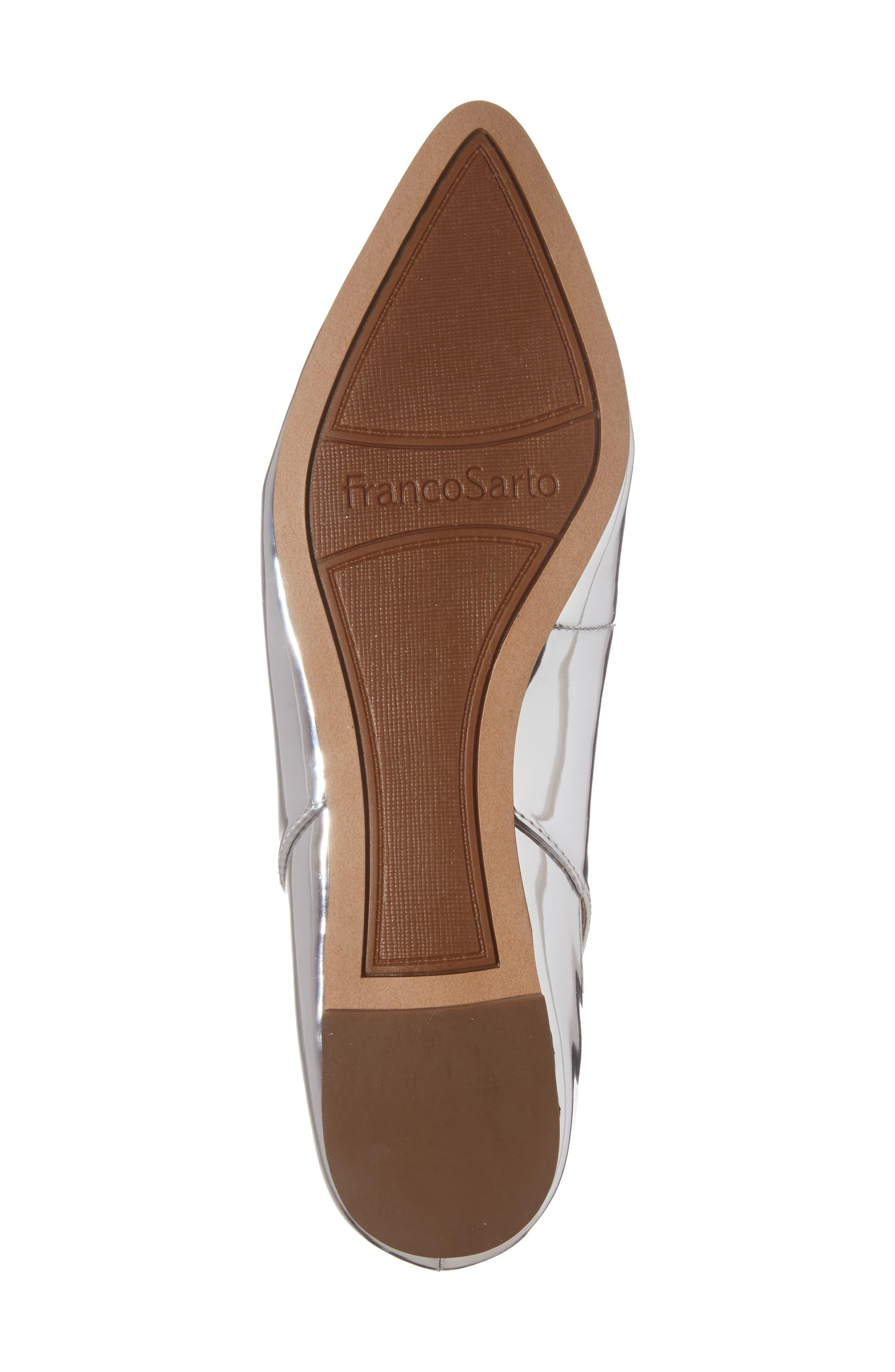 Sylvia Ankle Strap Flat,                             Alternate thumbnail 6, color,                             040