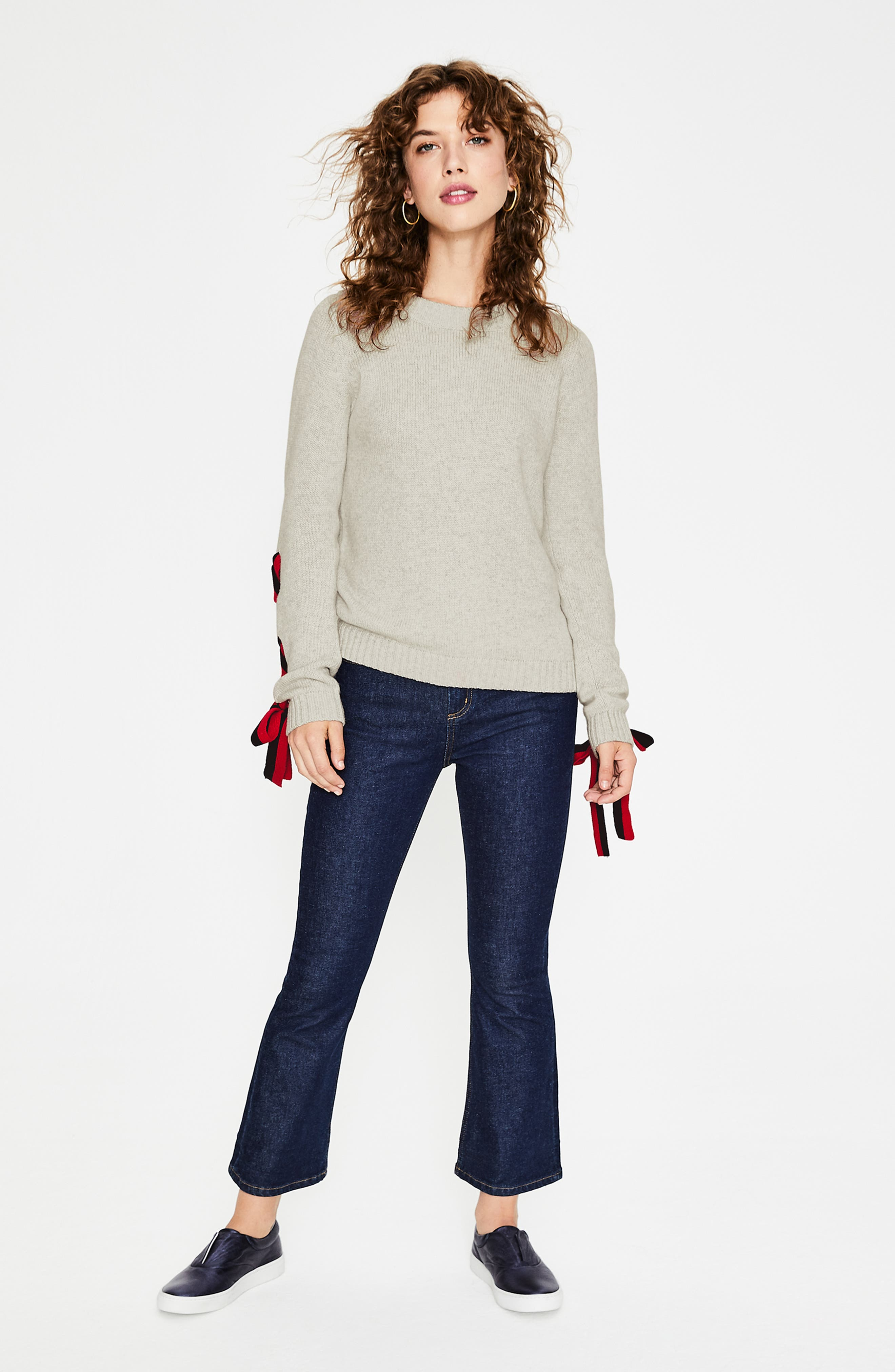 BODEN,                             Angelica Sweater,                             Alternate thumbnail 6, color,                             042