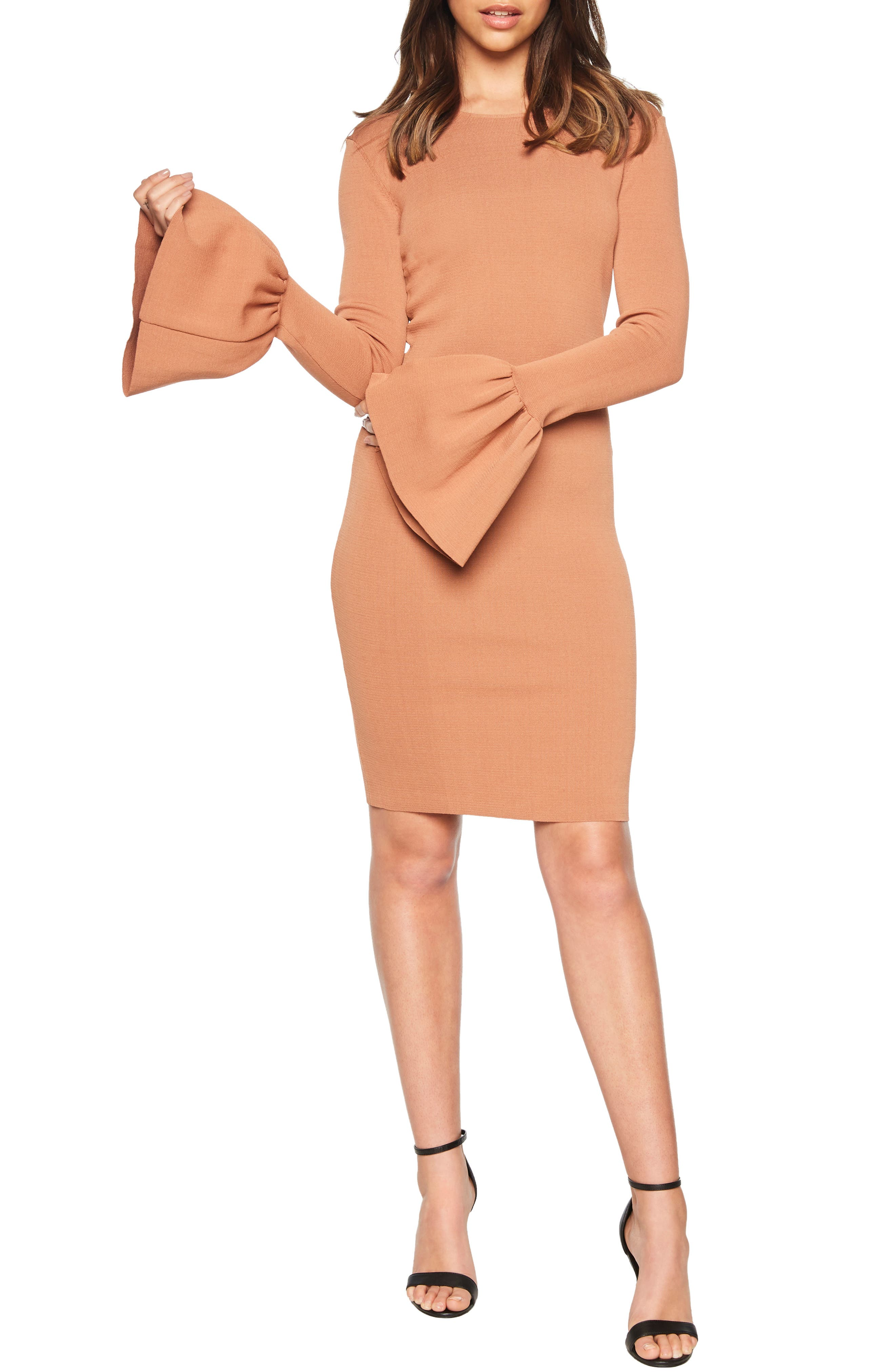 Bardot Arabella Sheath Dress, Beige