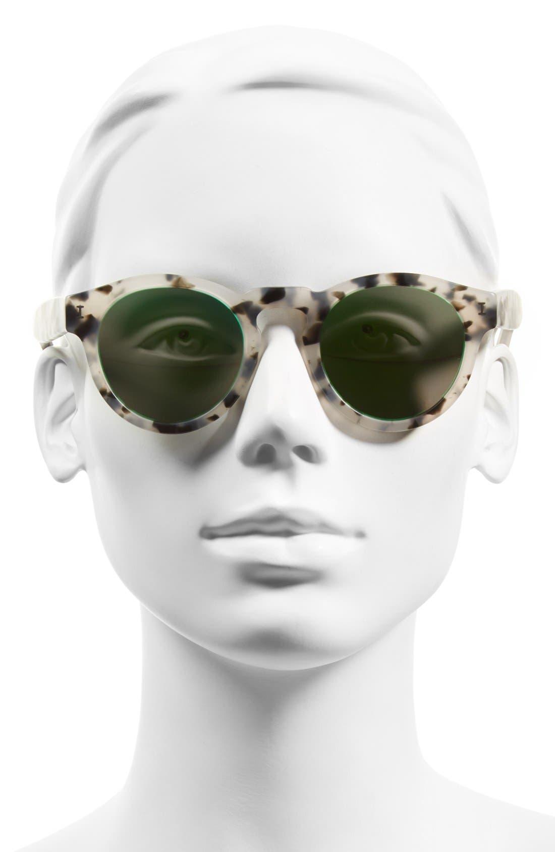 'Leonard' 47mm Sunglasses,                             Alternate thumbnail 100, color,