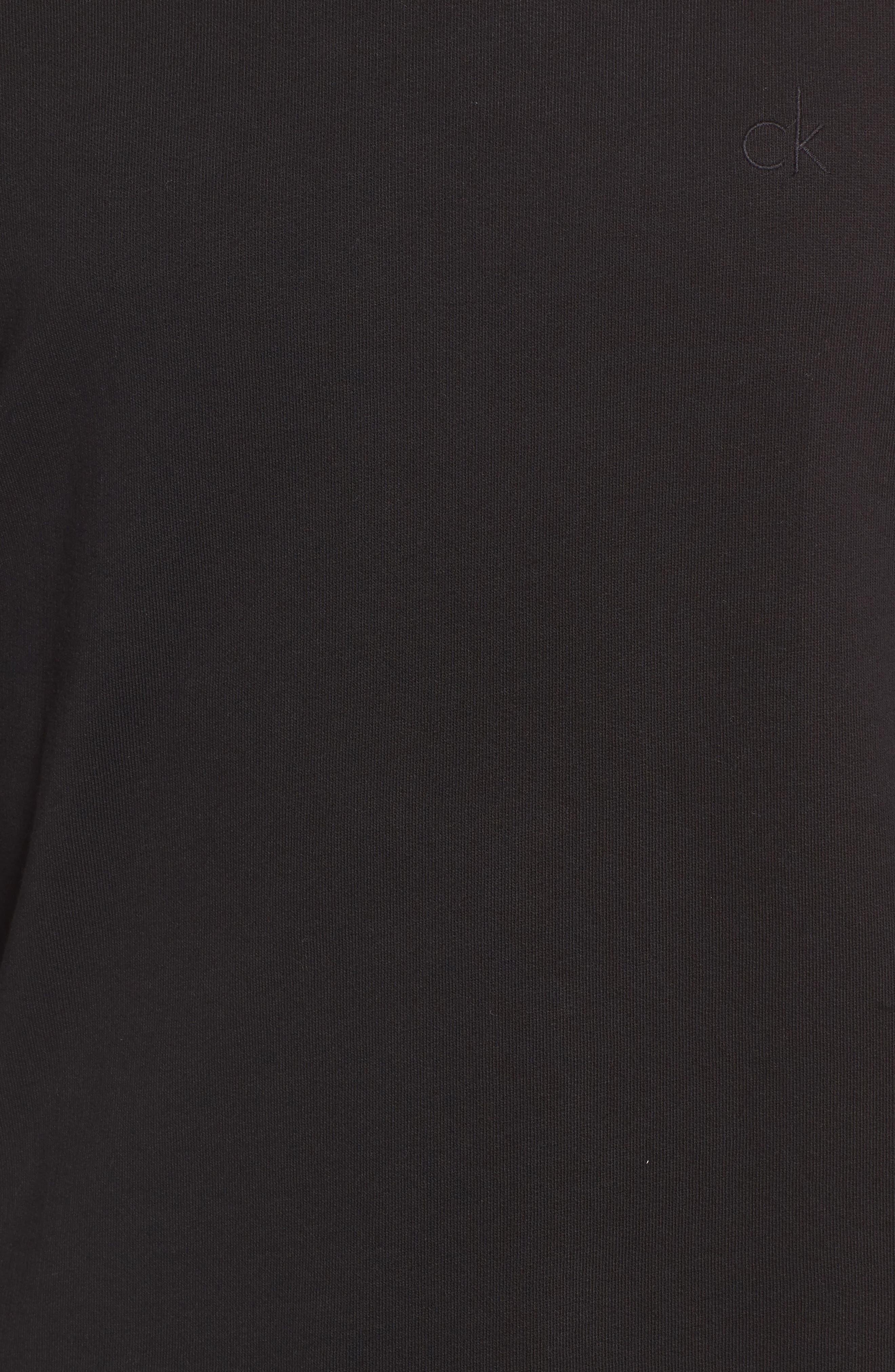 Zip Shoulder Sweatshirt,                             Alternate thumbnail 5, color,                             010