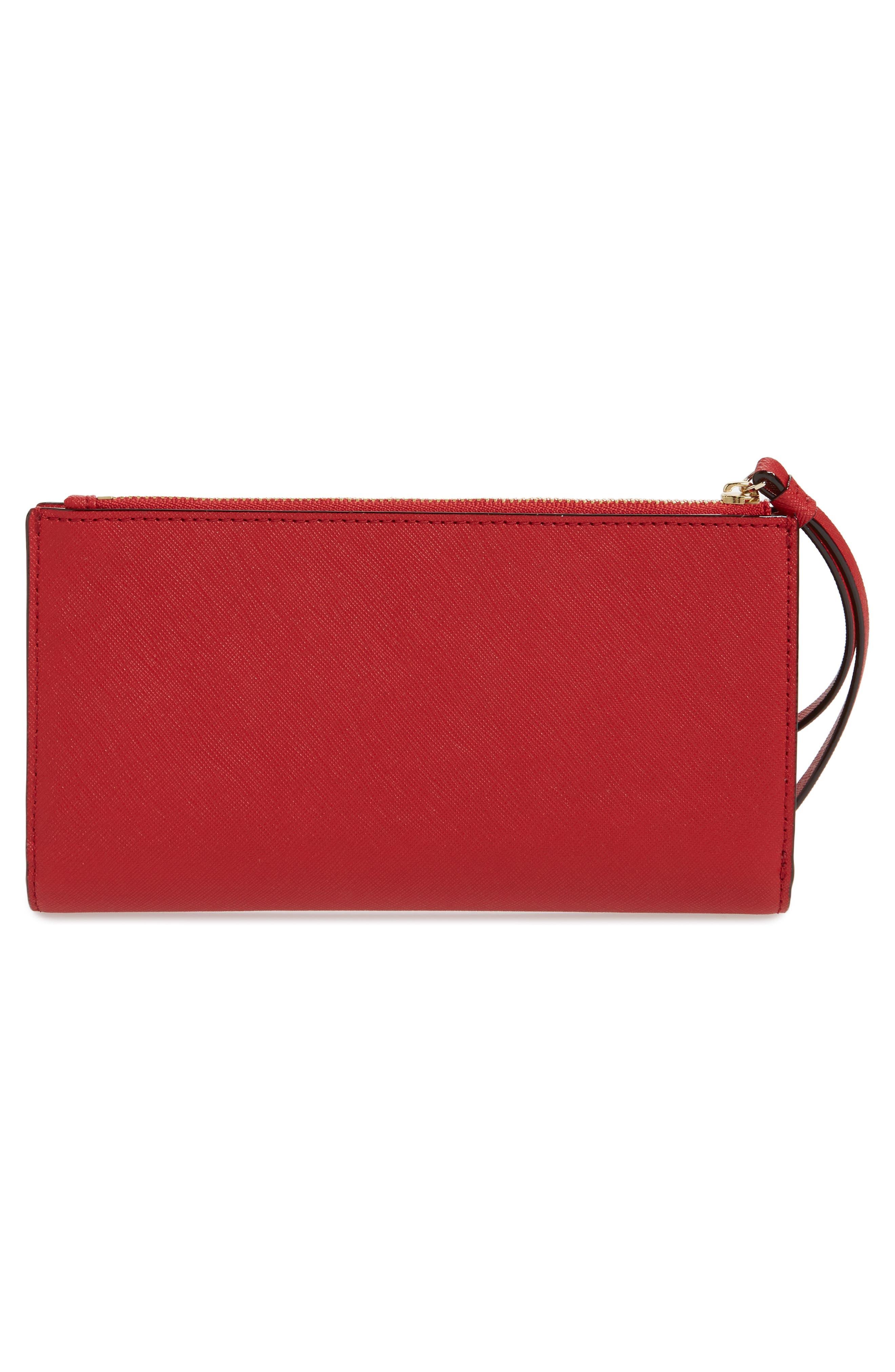 cameron street - eliza leather wallet,                             Alternate thumbnail 3, color,                             602