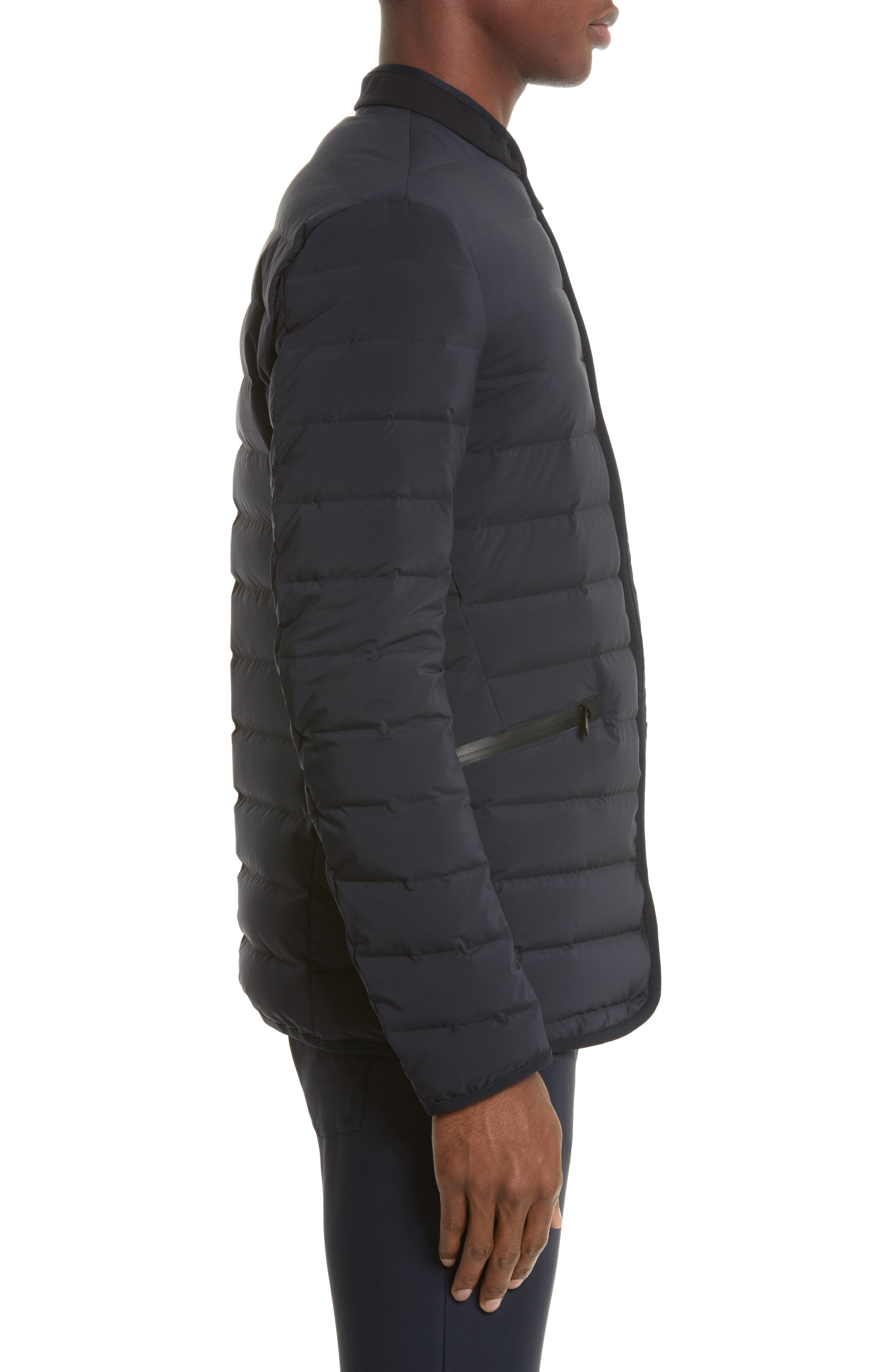 Quilted Down Jacket,                             Alternate thumbnail 3, color,                             410