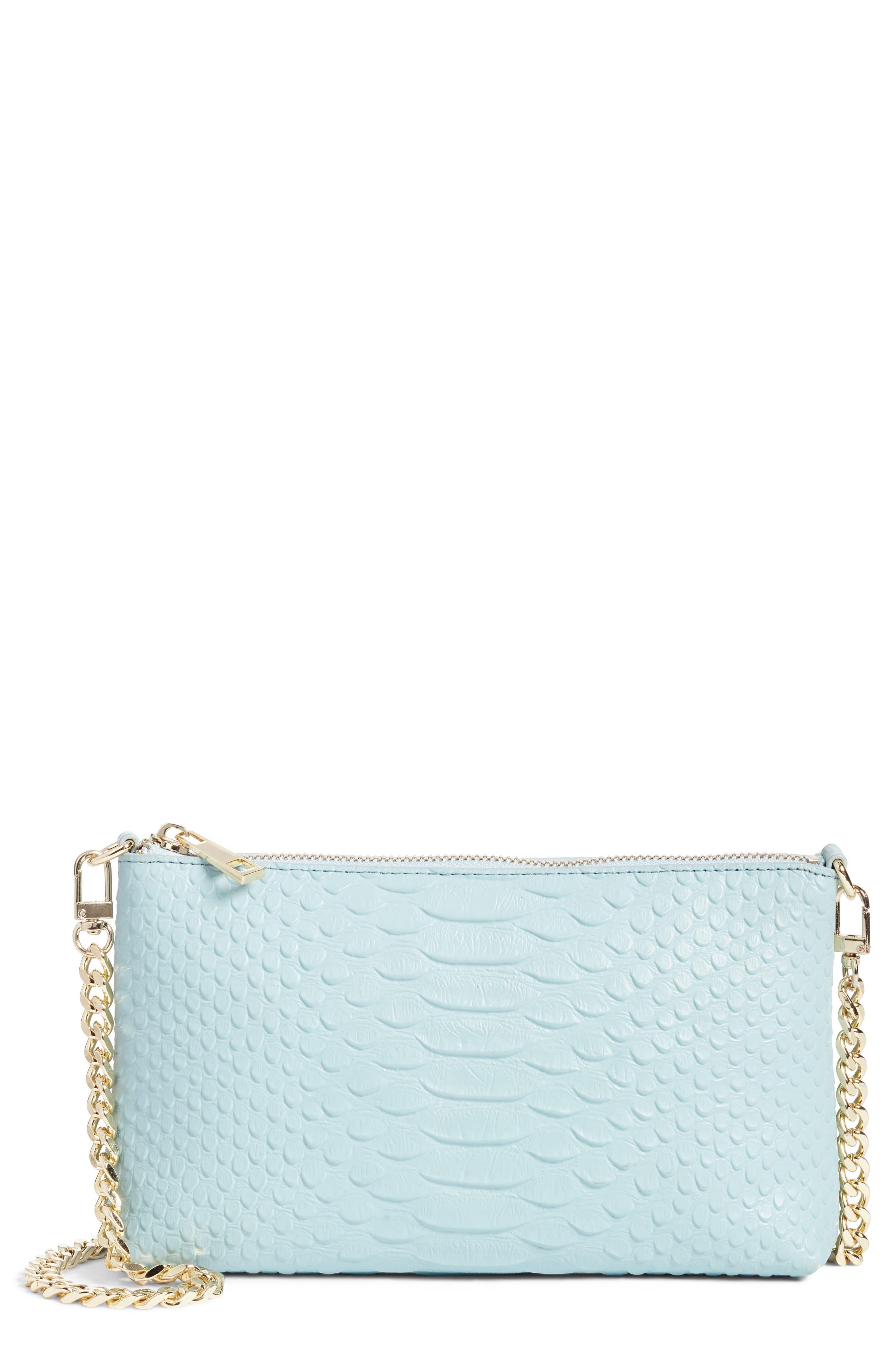 Lola Textured Faux Leather Crossbody Bag,                             Main thumbnail 1, color,