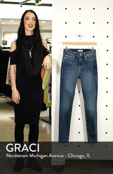 Raw Hem Ankle Skinny Jeans, sales video thumbnail