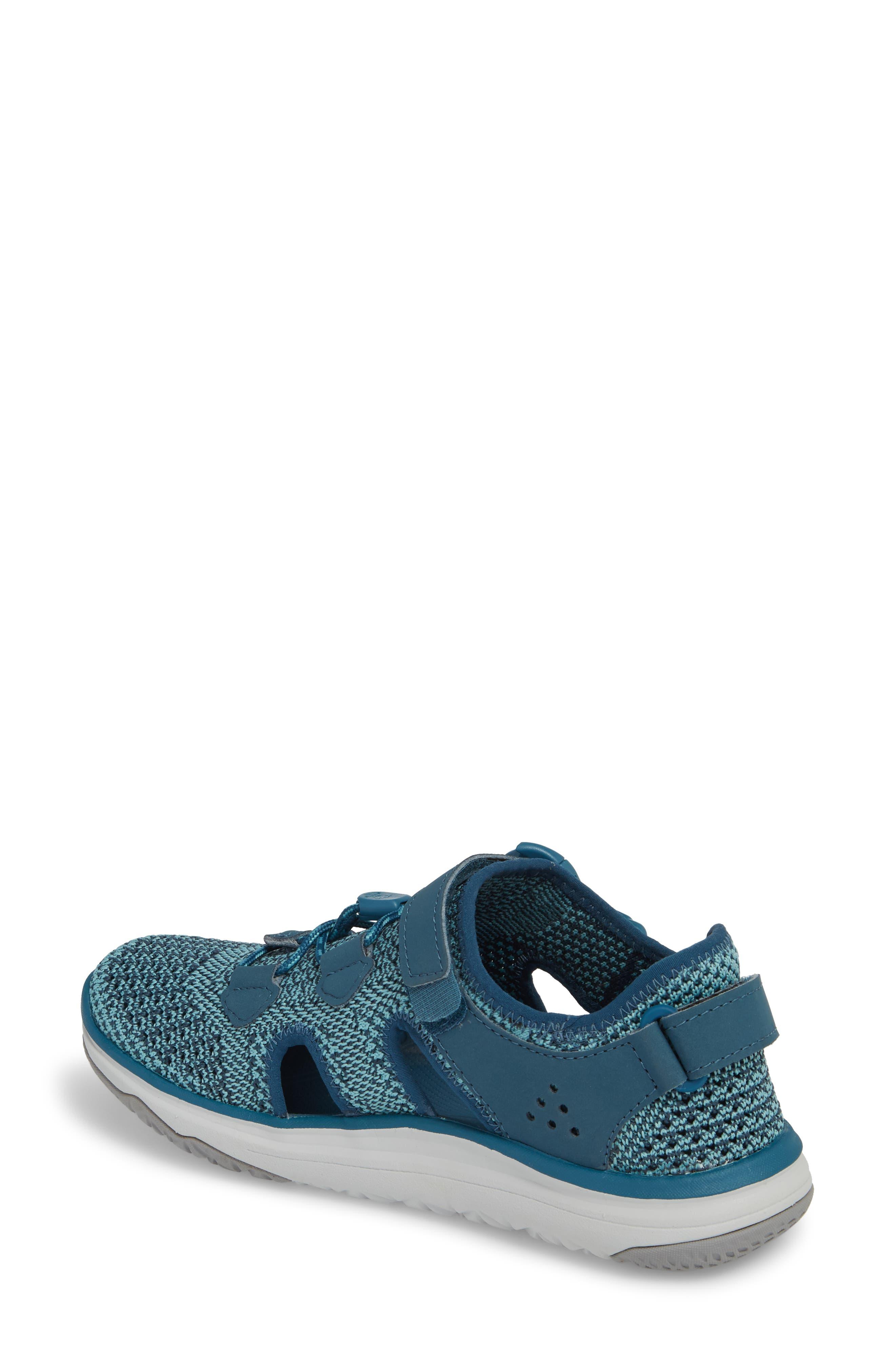 Terra Float Travel Knit Active Sandal,                             Alternate thumbnail 2, color,                             LEGION BLUE