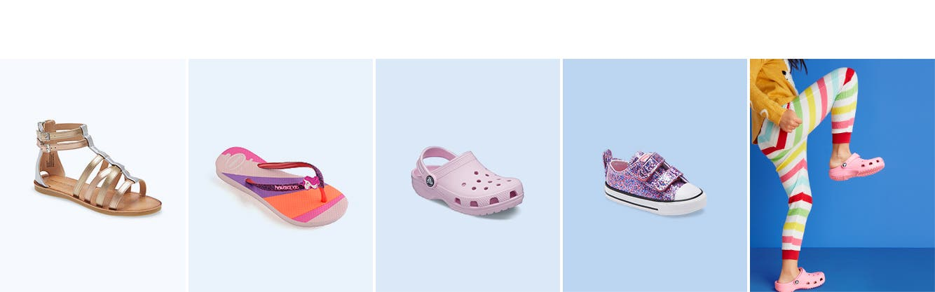 Girls' shoes for summer.