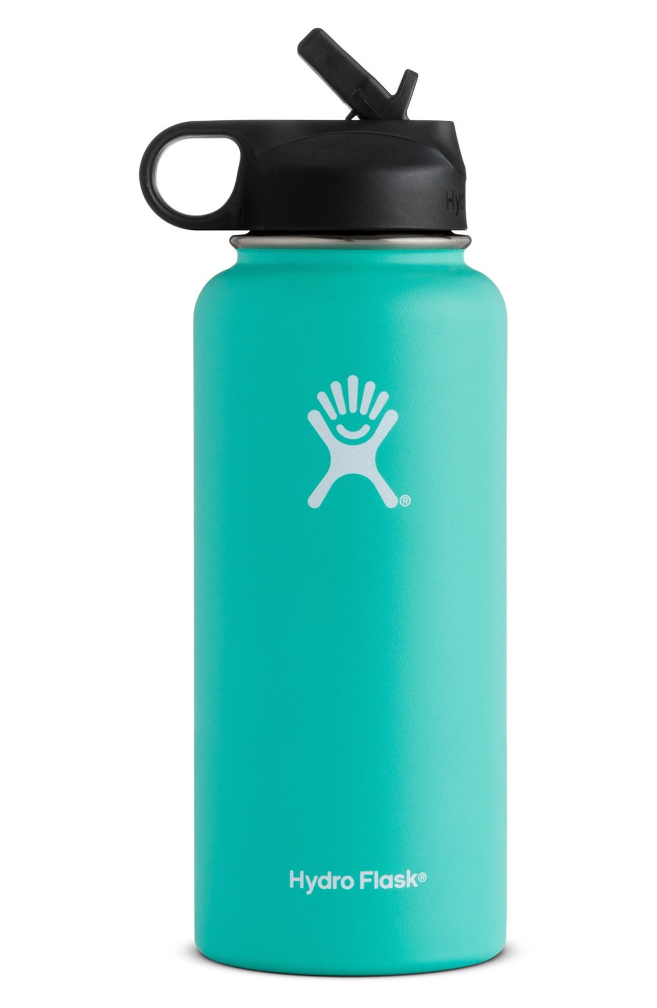 Hydro Flask 32-Ounce Wide Mouth Bottle with Straw Lid  3ccbaabcf