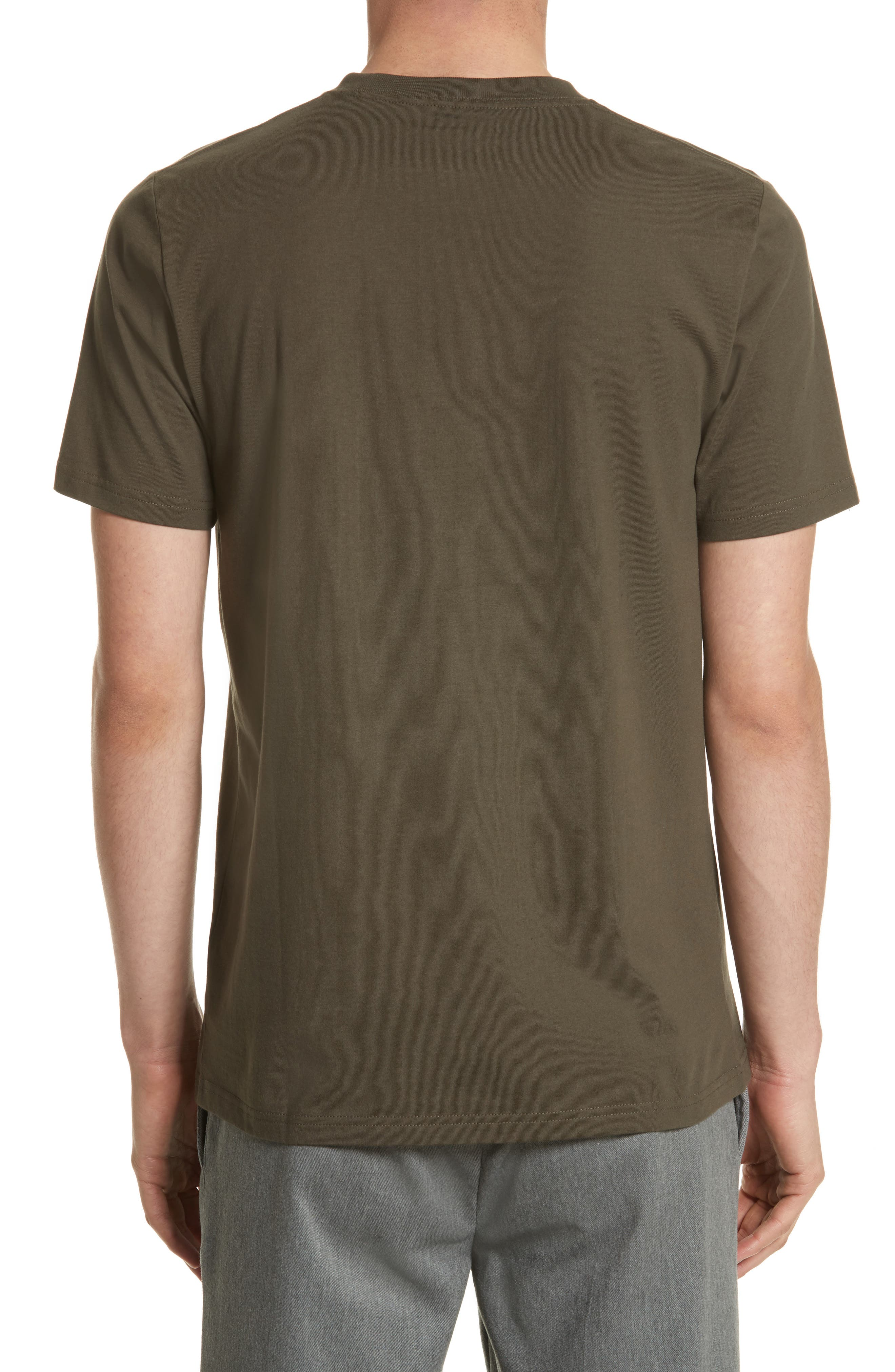 Logo Pocket T-Shirt,                             Alternate thumbnail 2, color,                             CYPRESS