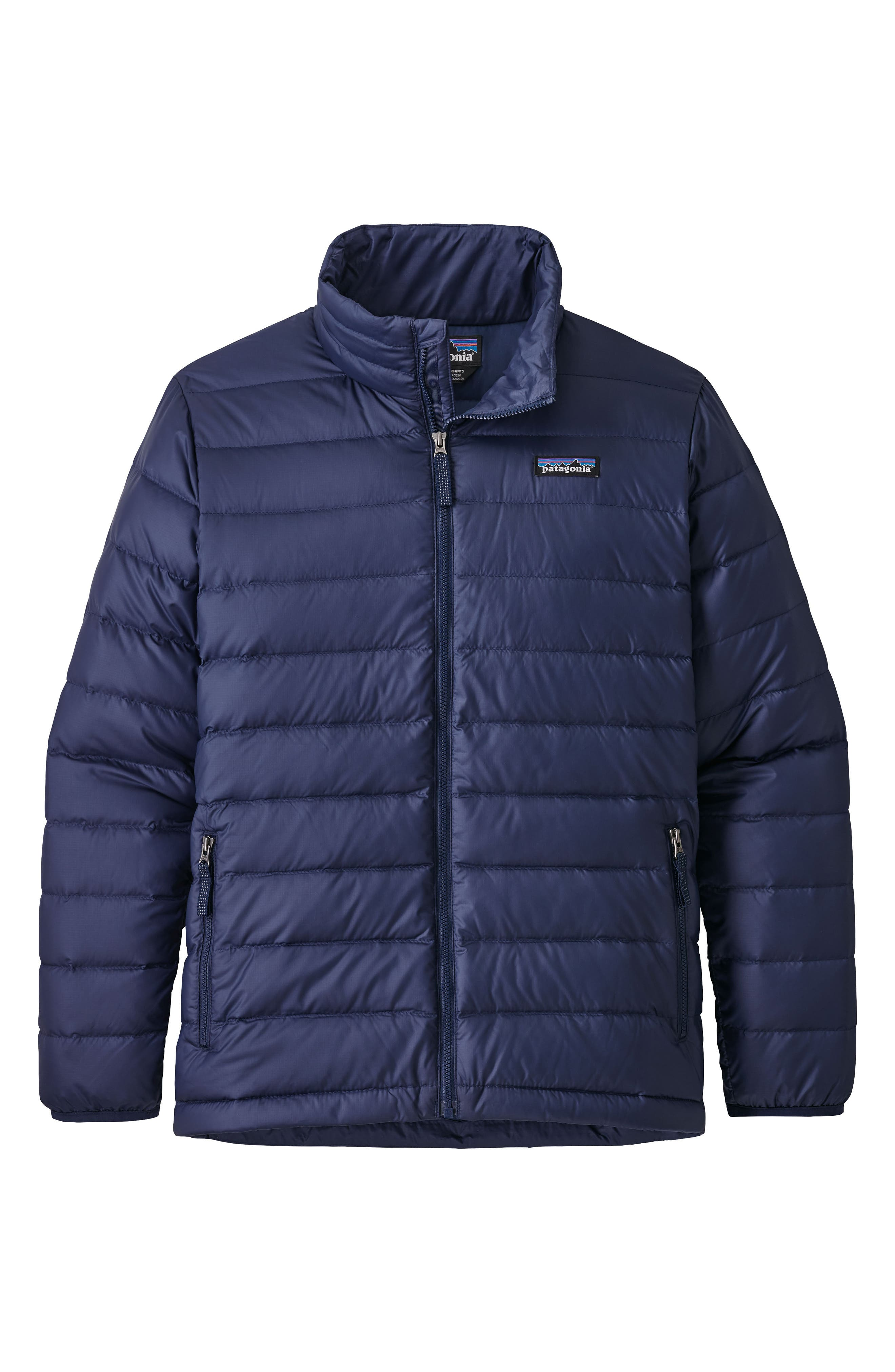 Down Sweater Jacket,                         Main,                         color, NAVY