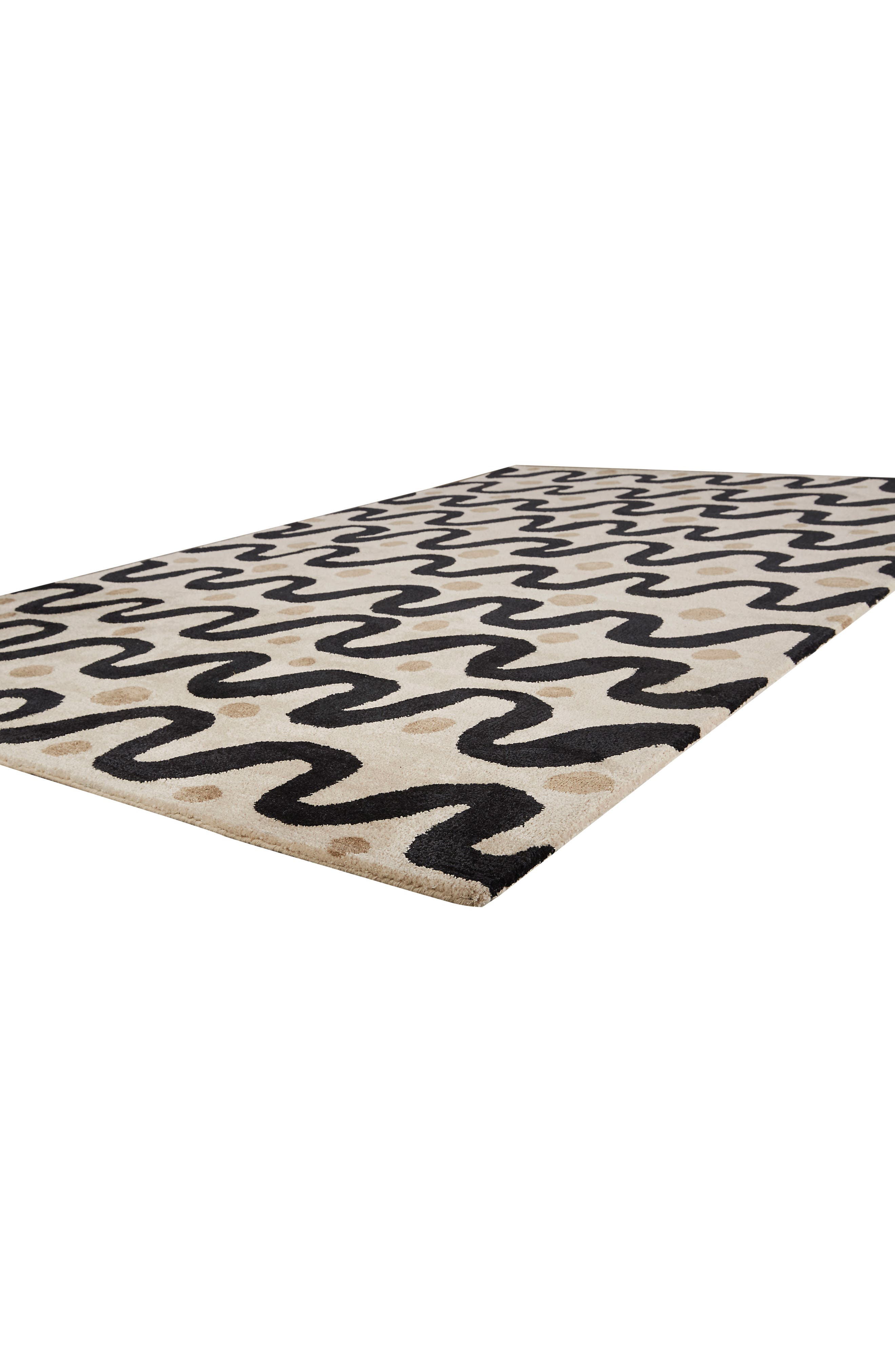 contemporary waves rug,                             Alternate thumbnail 2, color,                             250