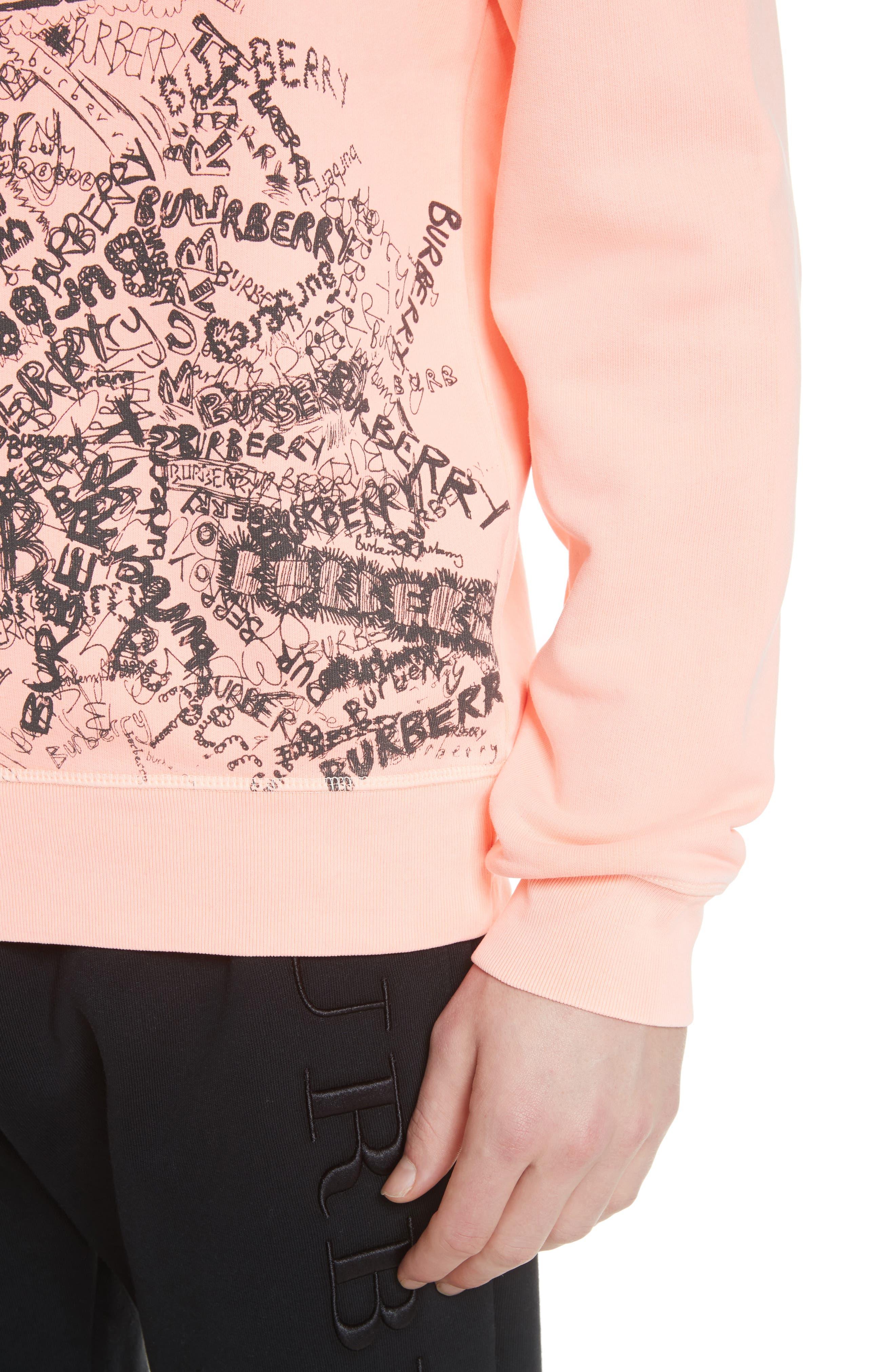 Rennie Graphic Crewneck Sweatshirt,                             Alternate thumbnail 4, color,                             800