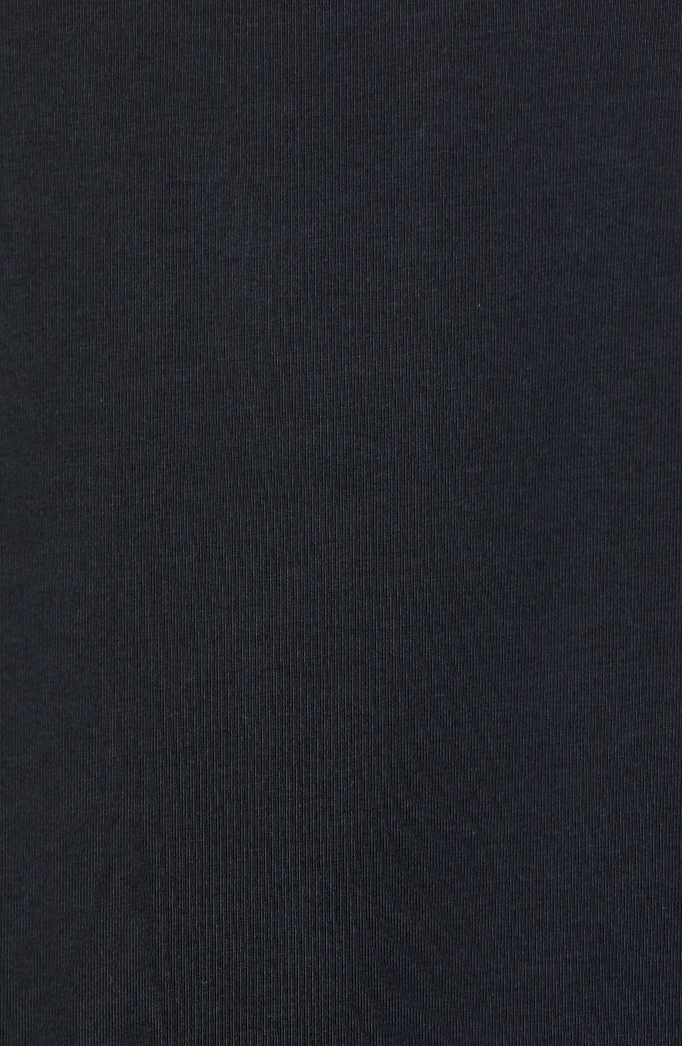 BOBBY JONES,                             Liquid Cotton Stretch Jersey Polo,                             Alternate thumbnail 5, color,                             BLACK