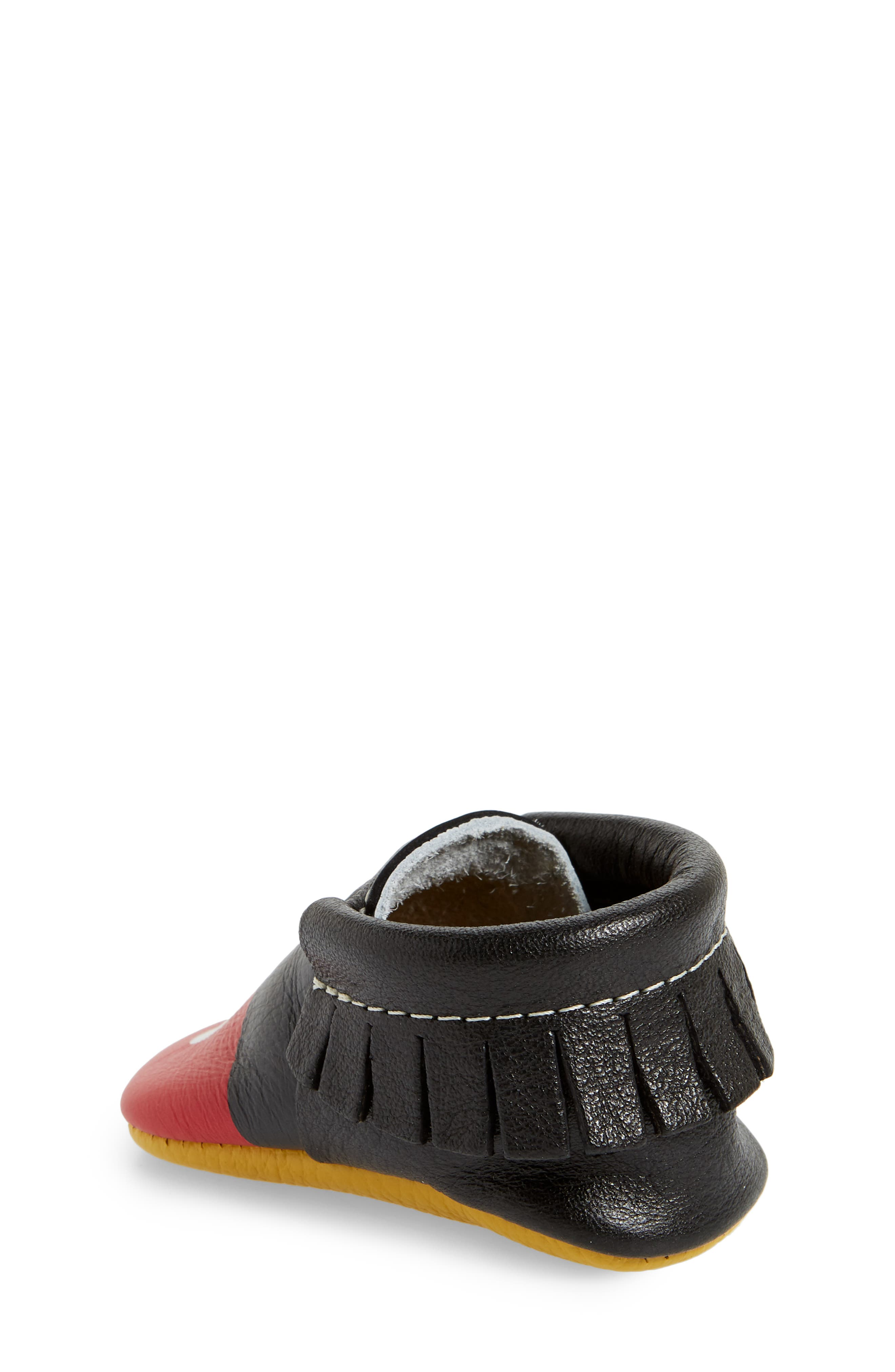 x Disney<sup>®</sup> Baby Mickey Mousee Crib Moccasin,                             Alternate thumbnail 2, color,                             001