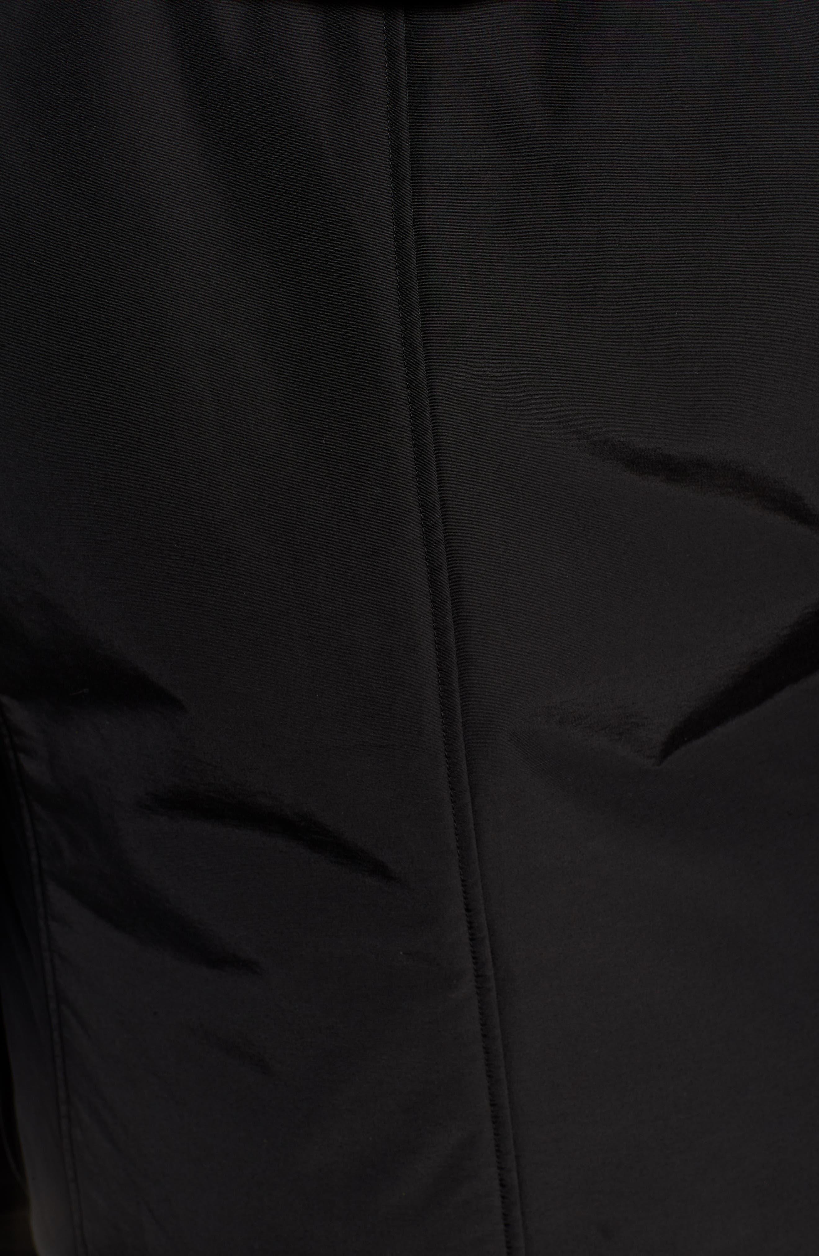 Camou Field Jacket,                             Alternate thumbnail 7, color,                             BLACK