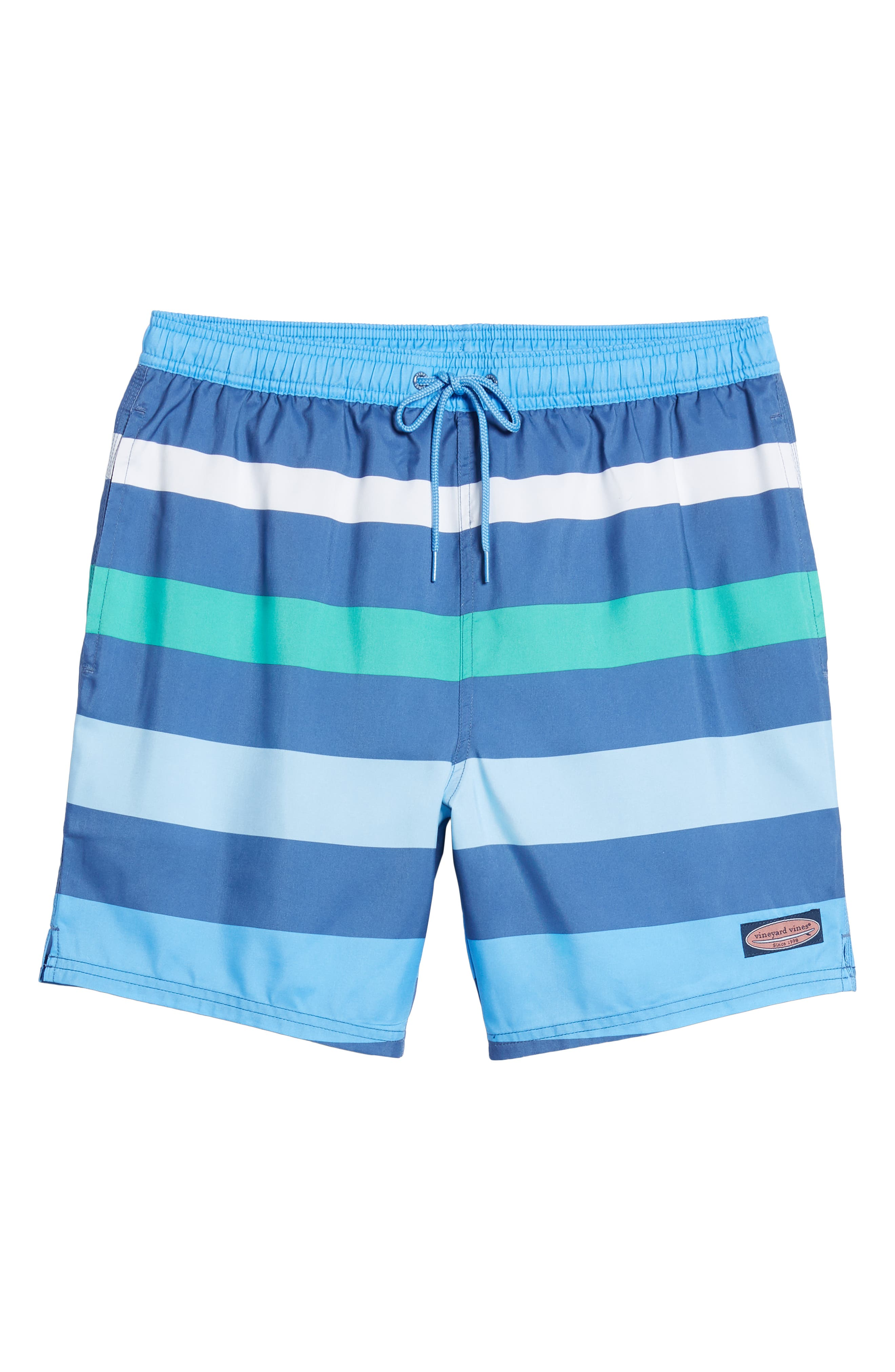 Chappy Pieced Swim Trunks,                             Alternate thumbnail 6, color,                             MOONSHINE