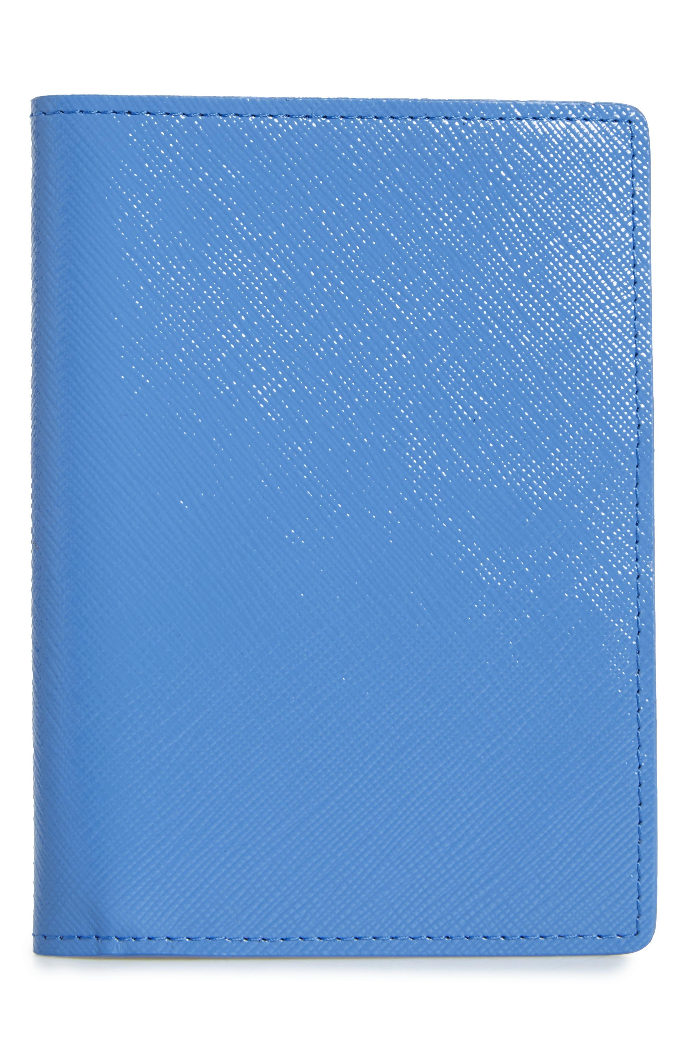 Leather Passport Case,                             Main thumbnail 5, color,