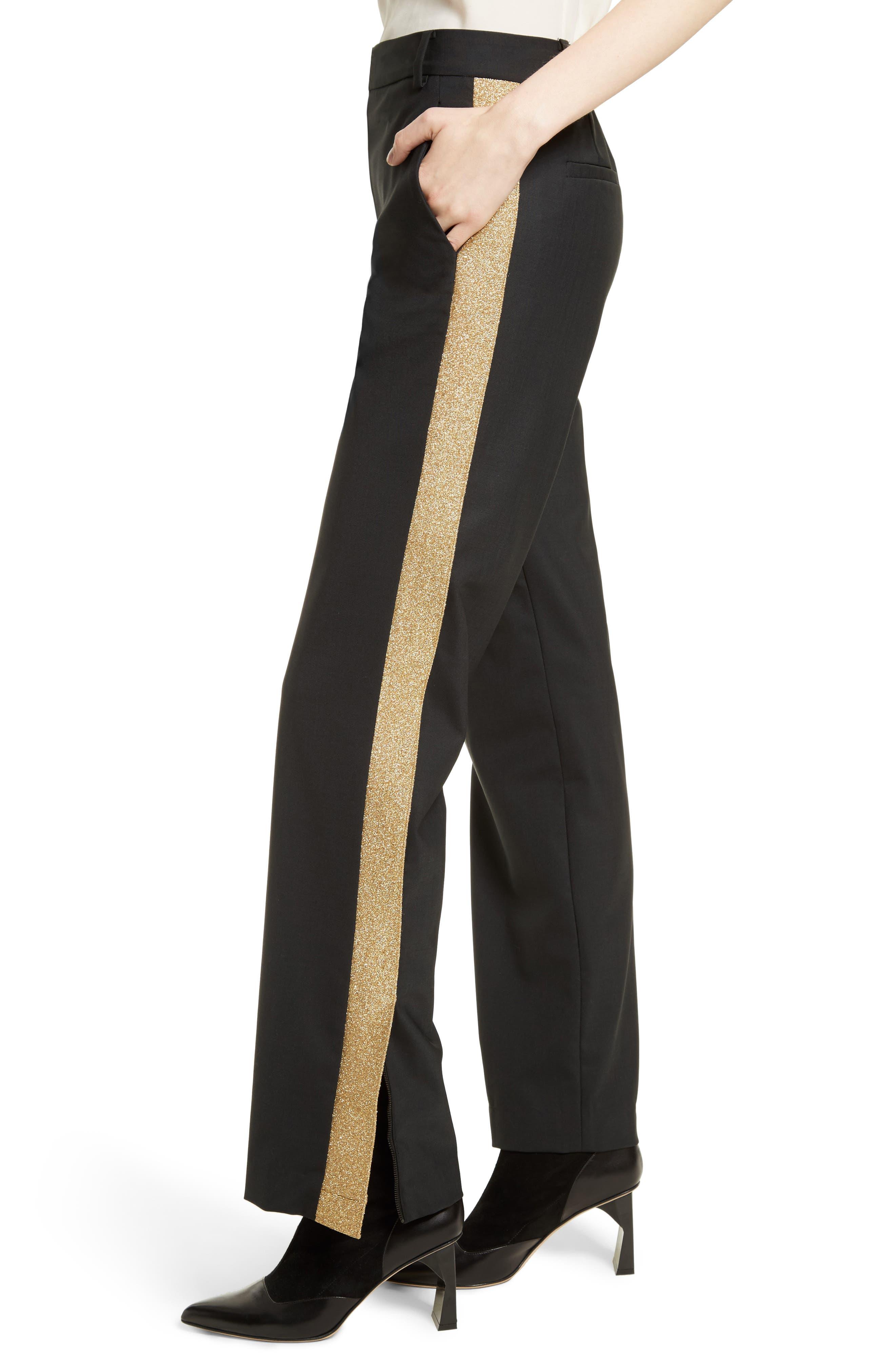 Tropical Blend Tuxedo Pants,                             Alternate thumbnail 4, color,                             001