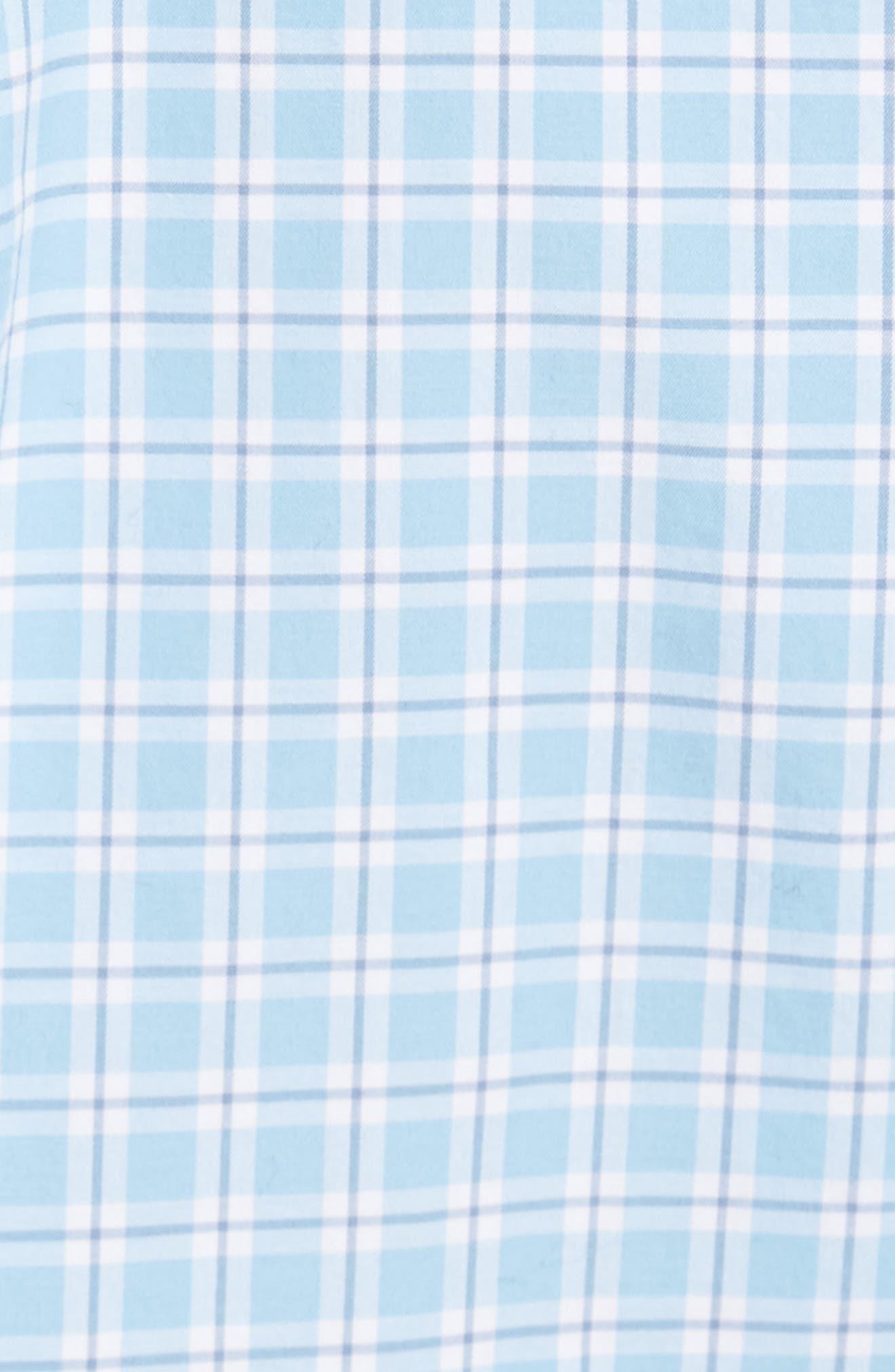 Ballard Regular Fit Check Sport Shirt,                             Alternate thumbnail 5, color,                             400