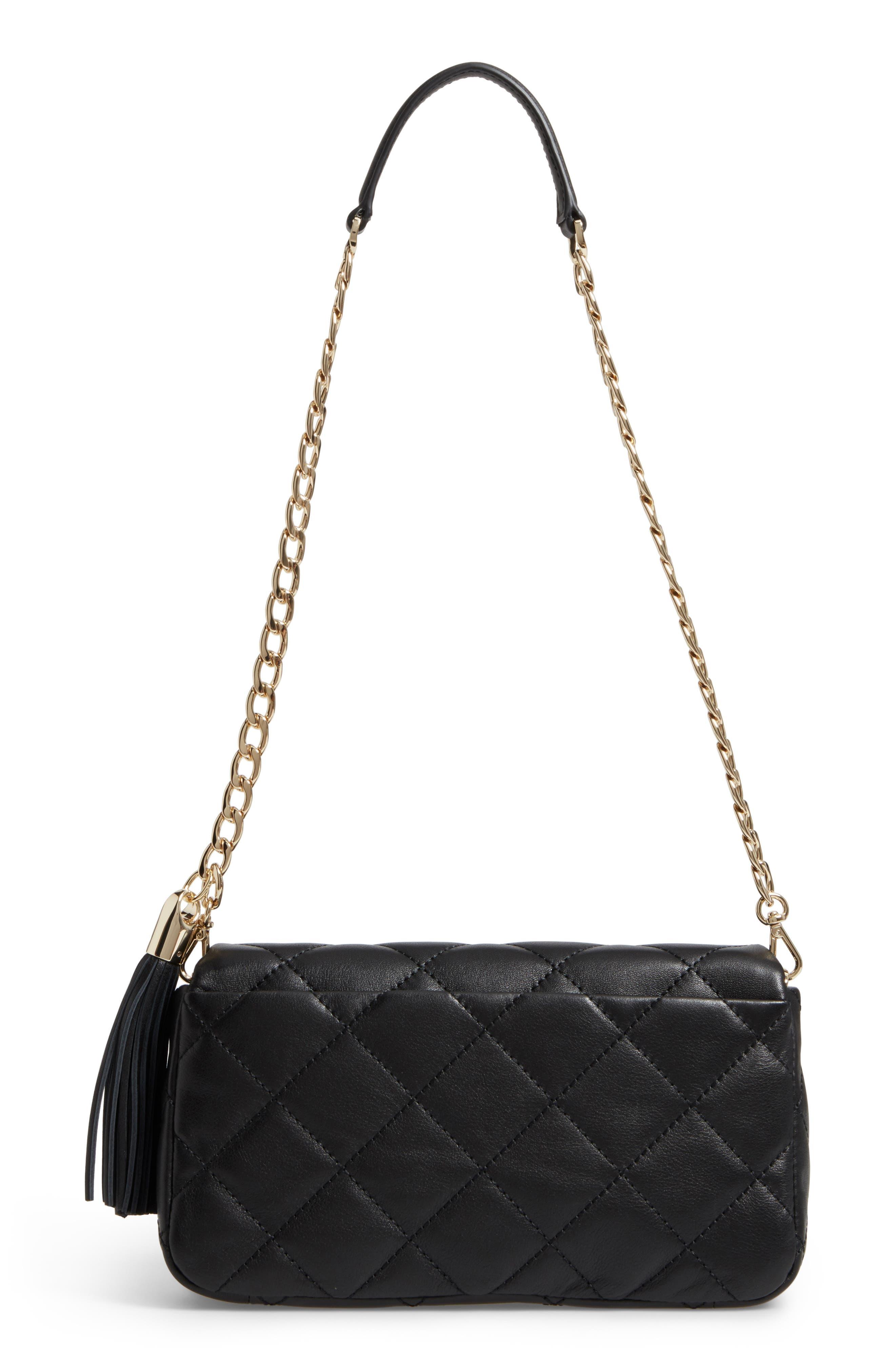 emerson place - serena leather shoulder bag,                             Alternate thumbnail 7, color,