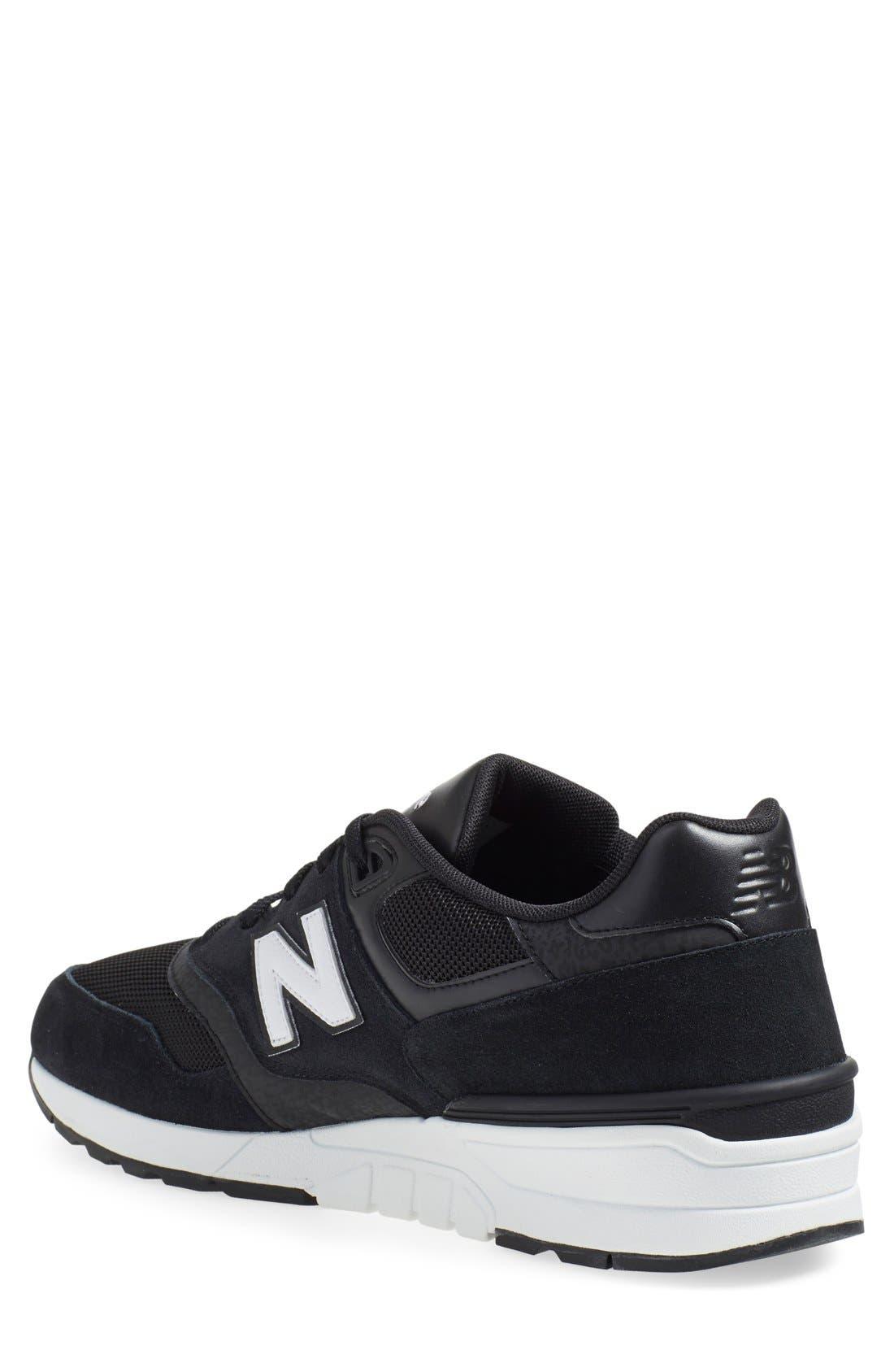 '597' Sneaker,                             Alternate thumbnail 4, color,                             001