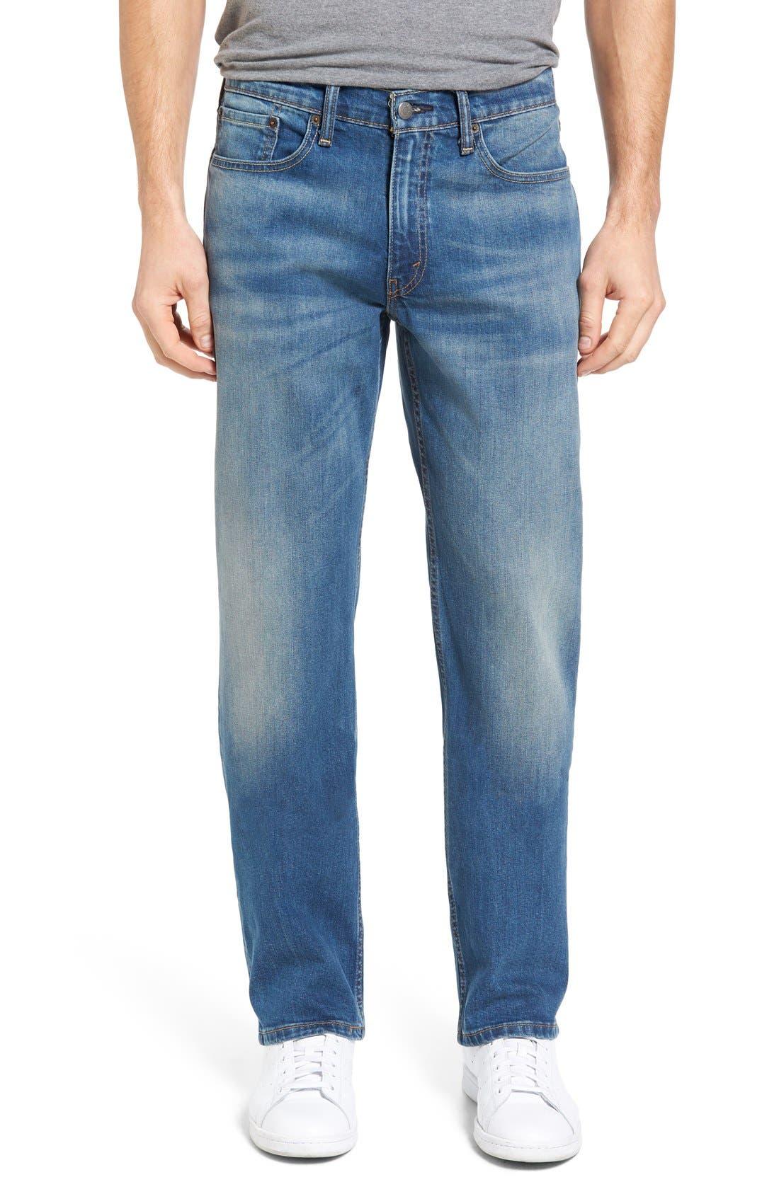 514<sup>™</sup> Straight Leg Jeans,                         Main,                         color, HAGGARD