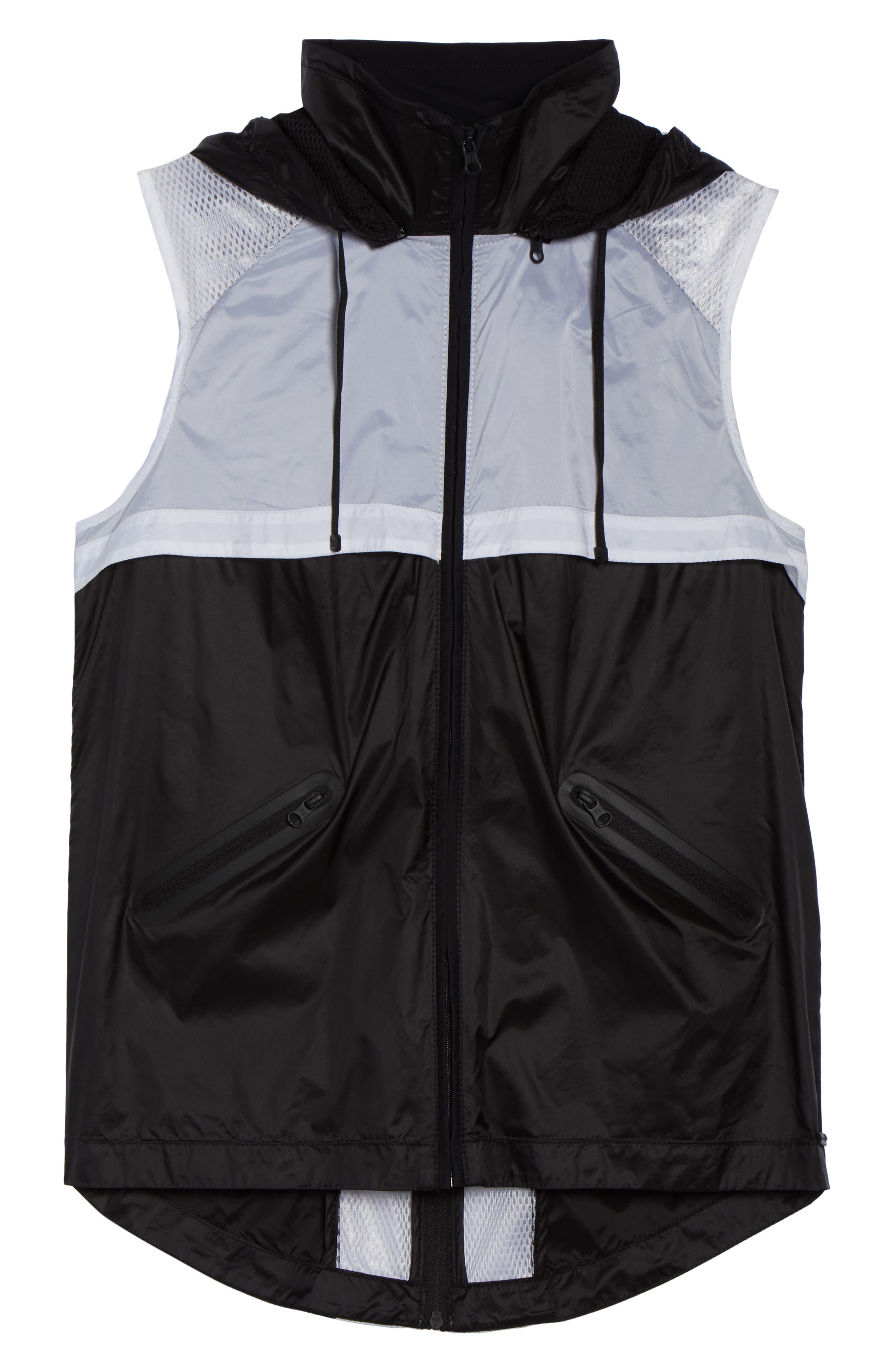 Moonlight Vest,                             Alternate thumbnail 6, color,                             BLACK