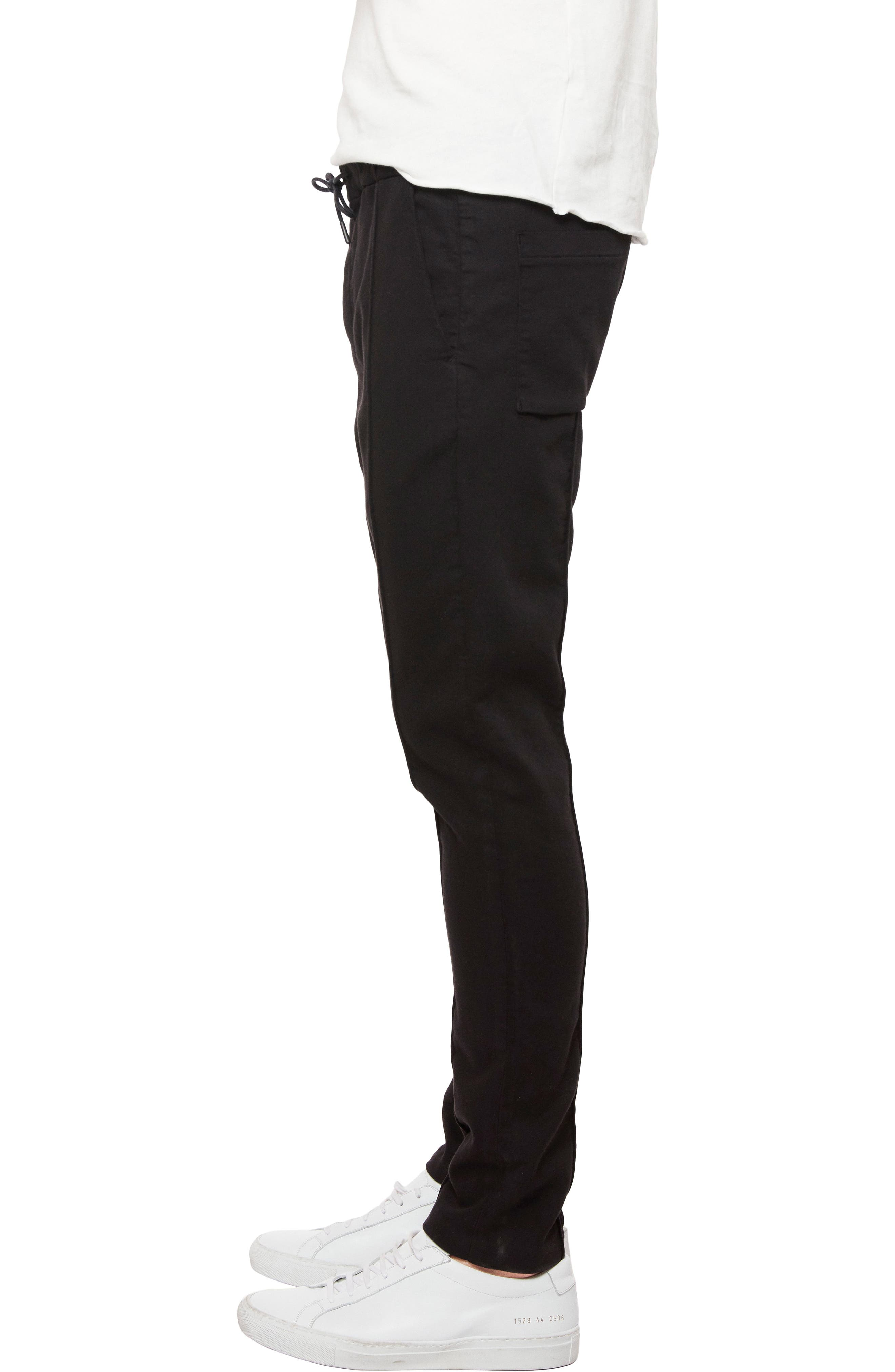 Wakat Relaxed Fit Jogger Pants,                             Alternate thumbnail 3, color,                             BLACK