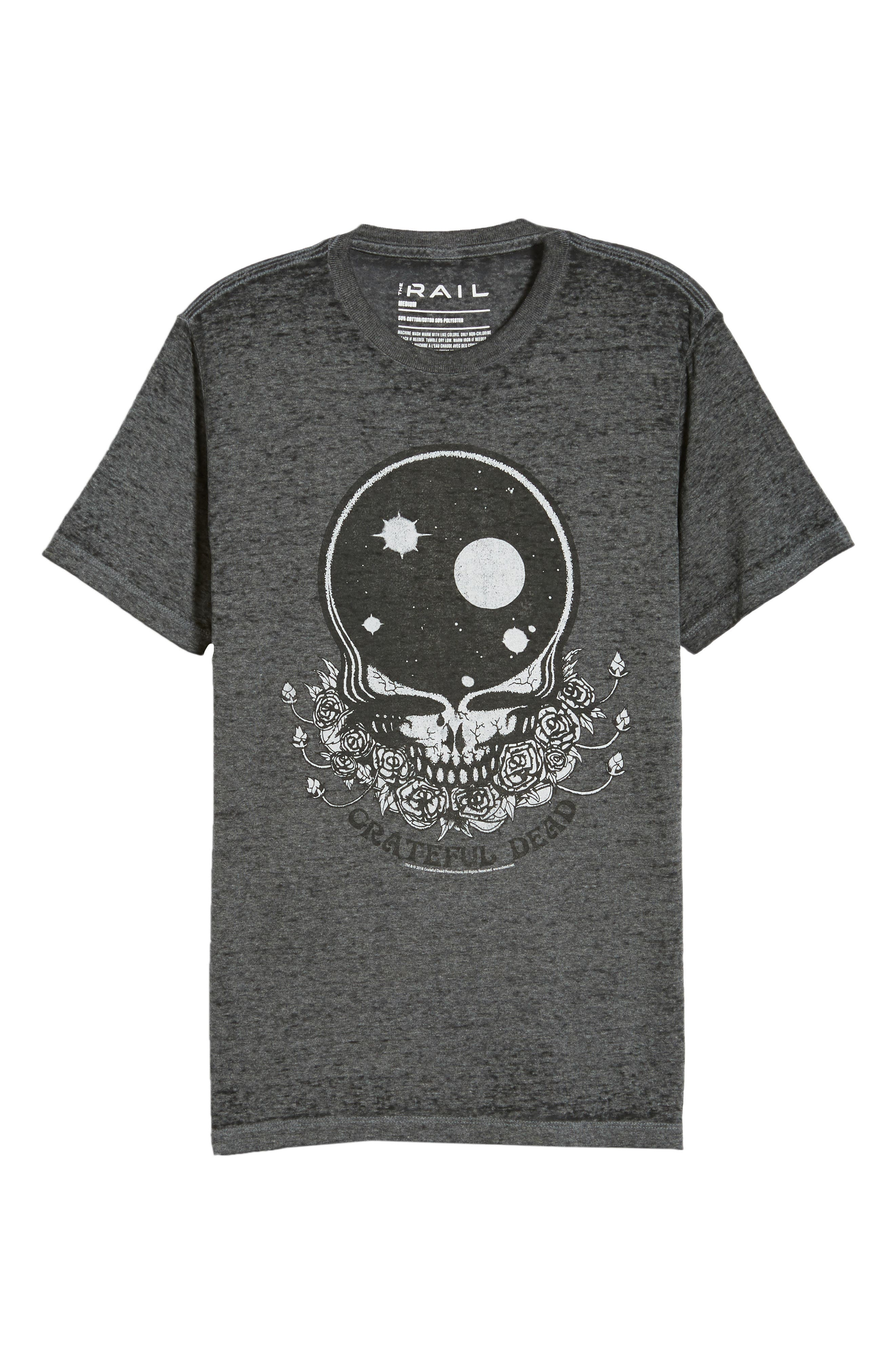 Grateful Dead Graphic T-Shirt,                             Alternate thumbnail 6, color,                             030
