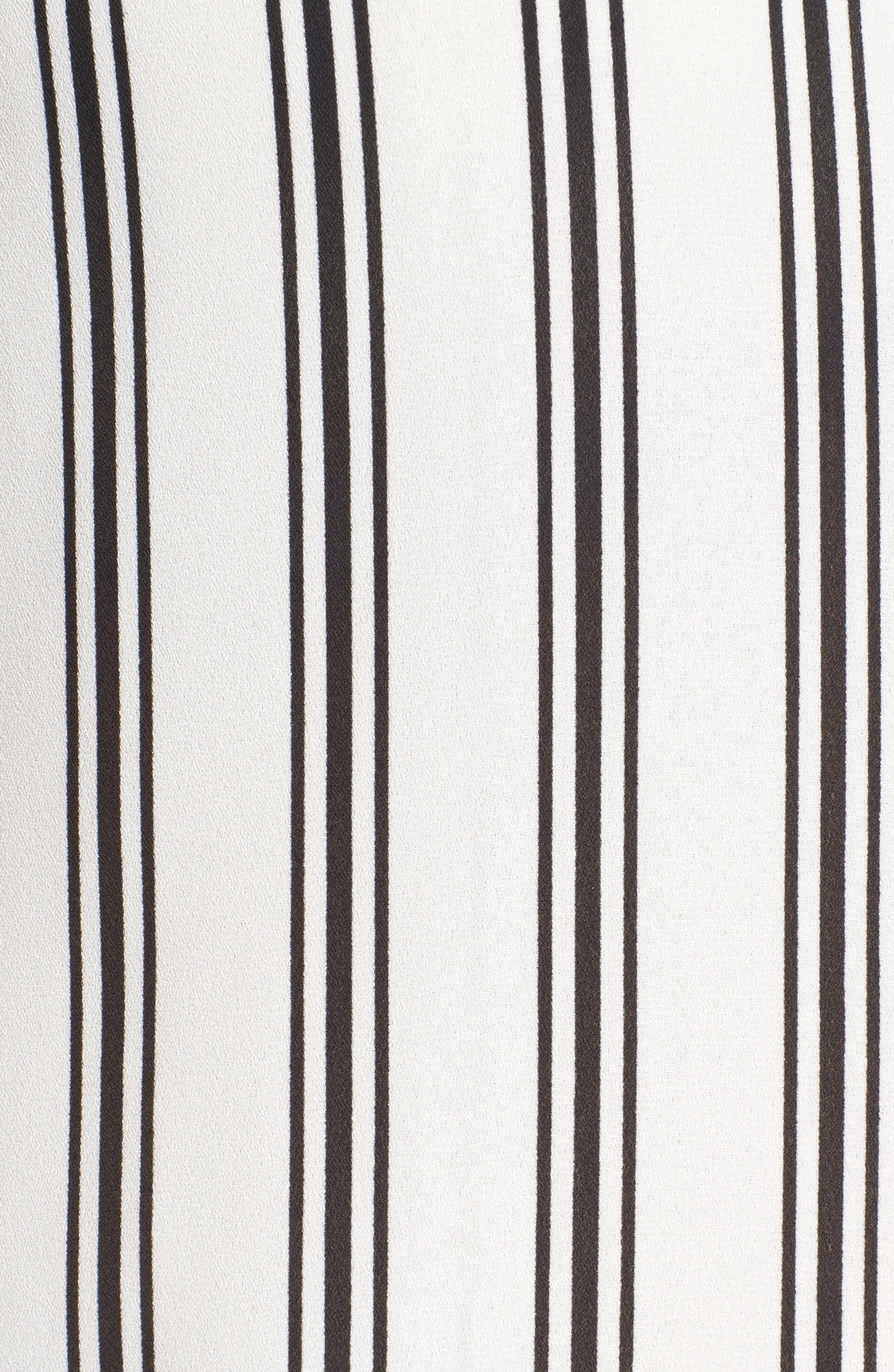 Stripe Puff Sleeve Blouse,                             Alternate thumbnail 5, color,                             901