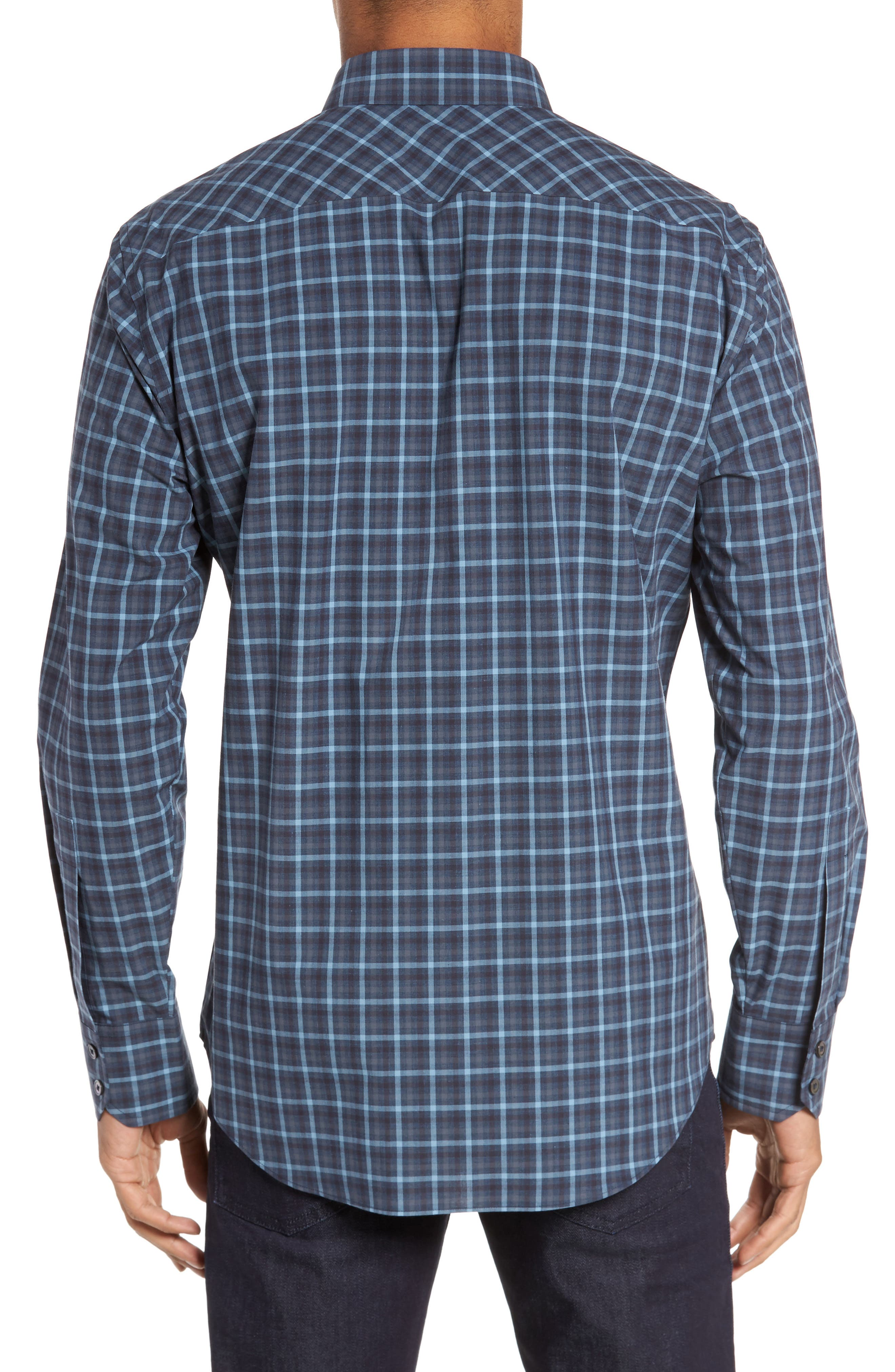 Lozado Check Sport Shirt,                             Alternate thumbnail 2, color,                             400