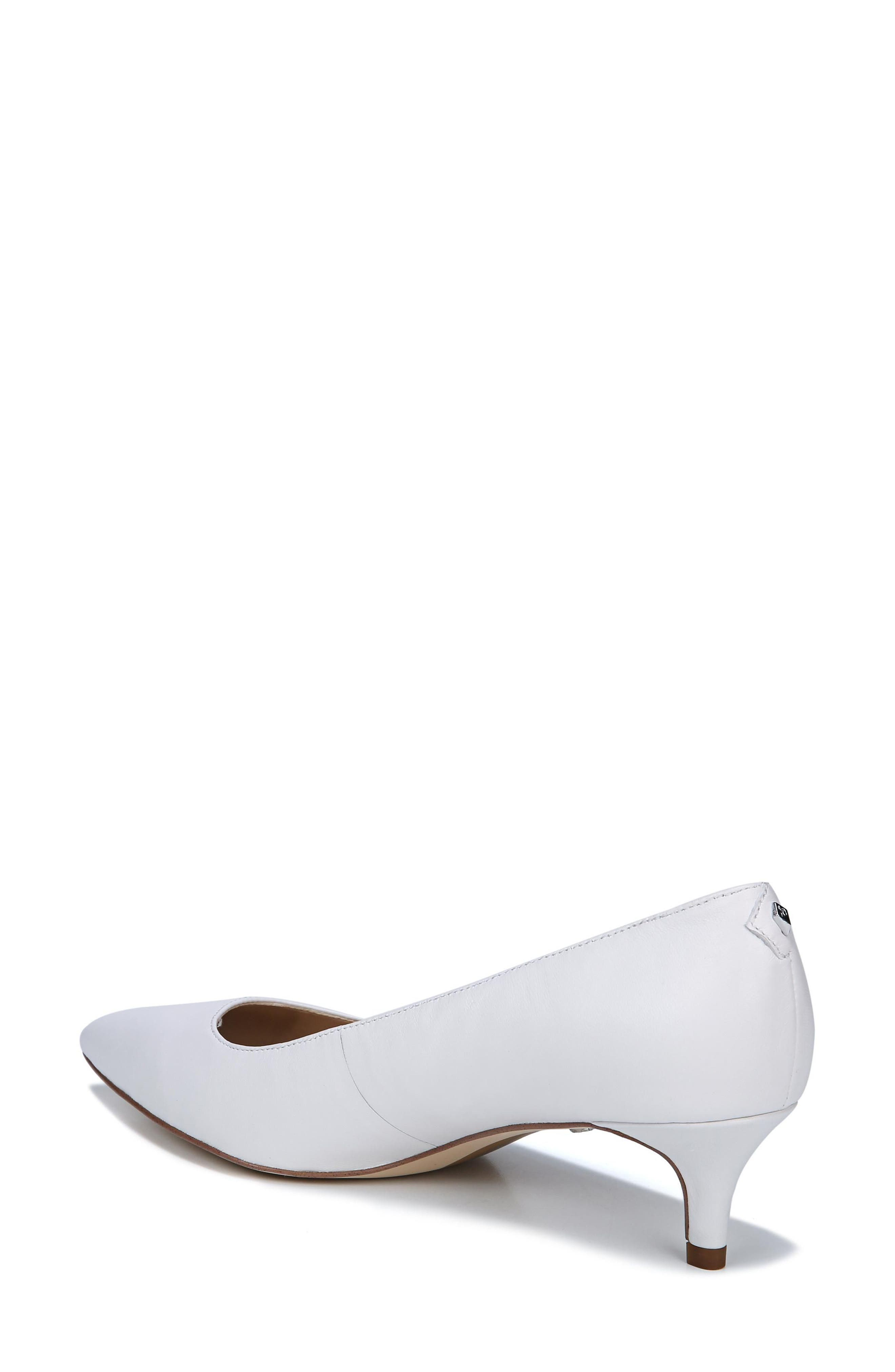 Dori Pump,                             Alternate thumbnail 2, color,                             BRIGHT WHITE LEATHER