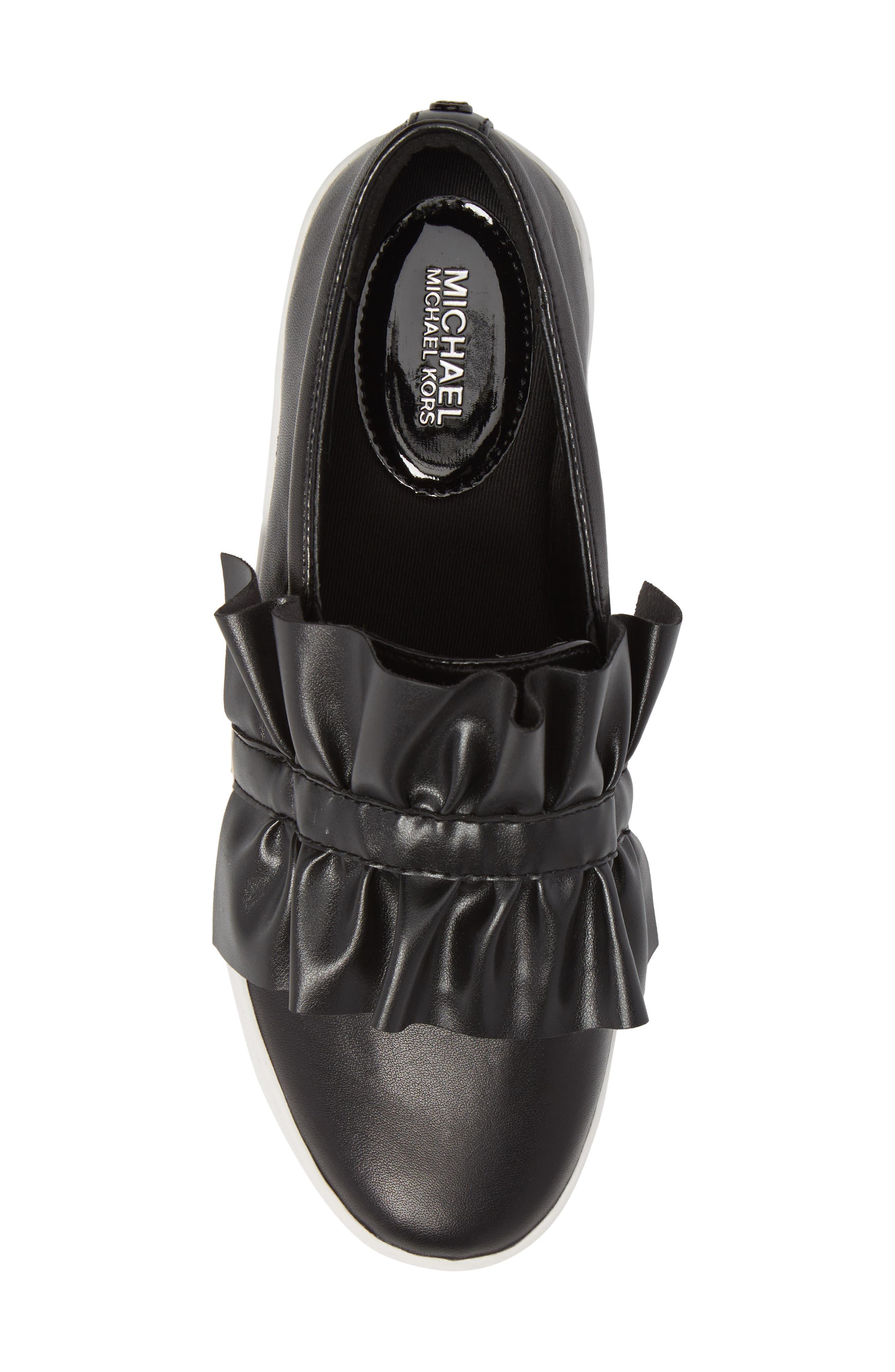 Bella Slip-On Sneaker,                             Alternate thumbnail 5, color,                             001