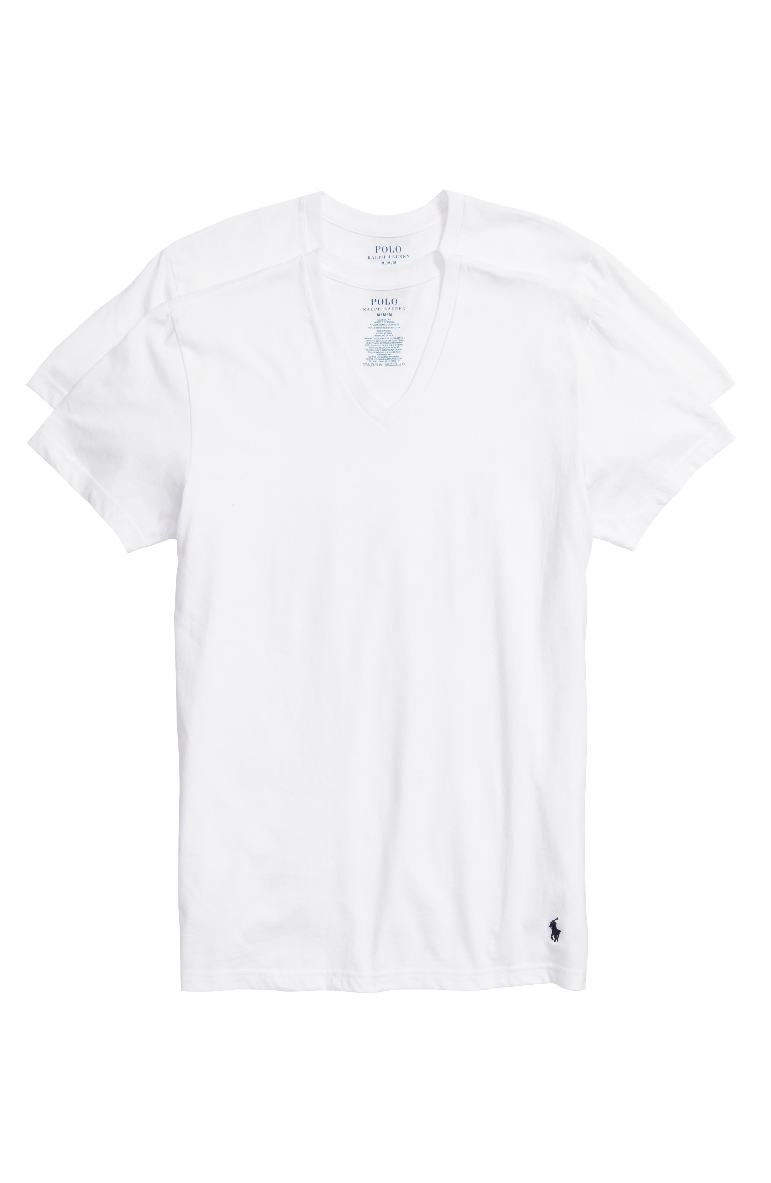 Polo Ralph Lauren 3 Pack V Neck T Shirts Nordstrom
