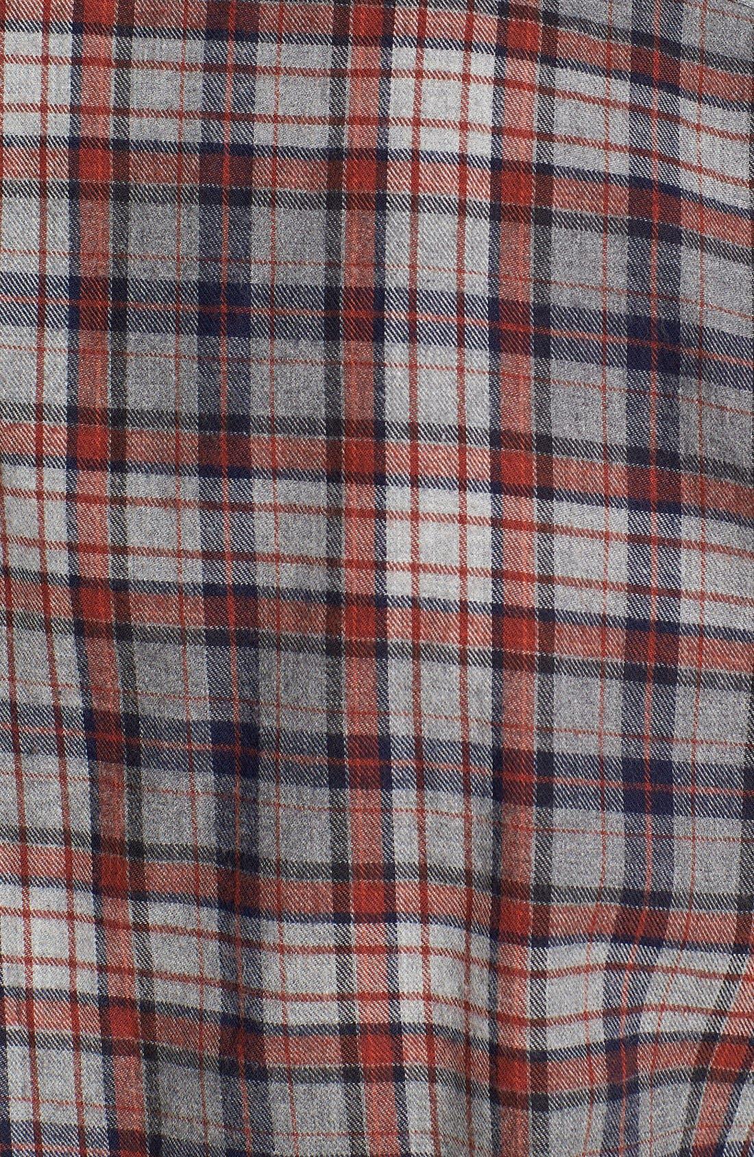 BILLY REID,                             'John T' Plaid Shirt,                             Alternate thumbnail 3, color,                             413