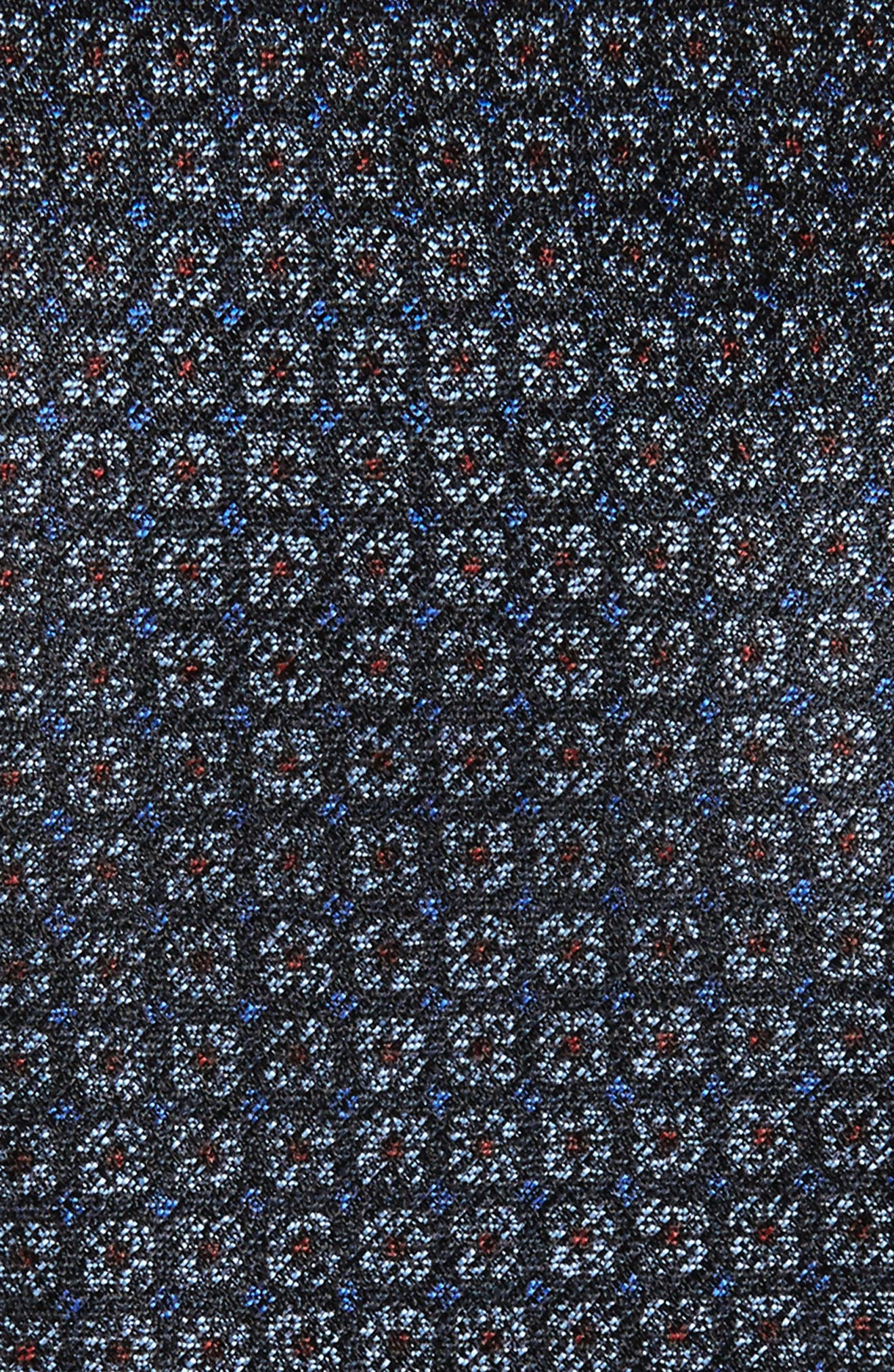 Geometric Silk Tie,                             Alternate thumbnail 2, color,                             415