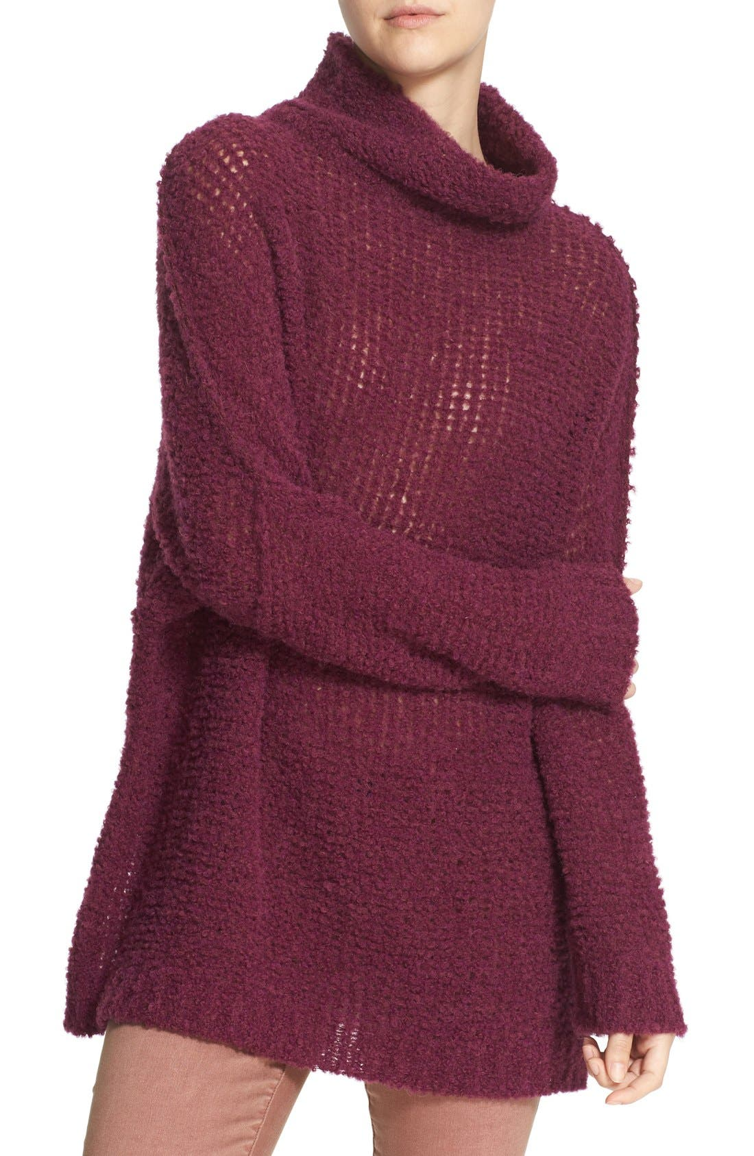'She's All That' Knit Turtleneck Sweater,                             Alternate thumbnail 29, color,