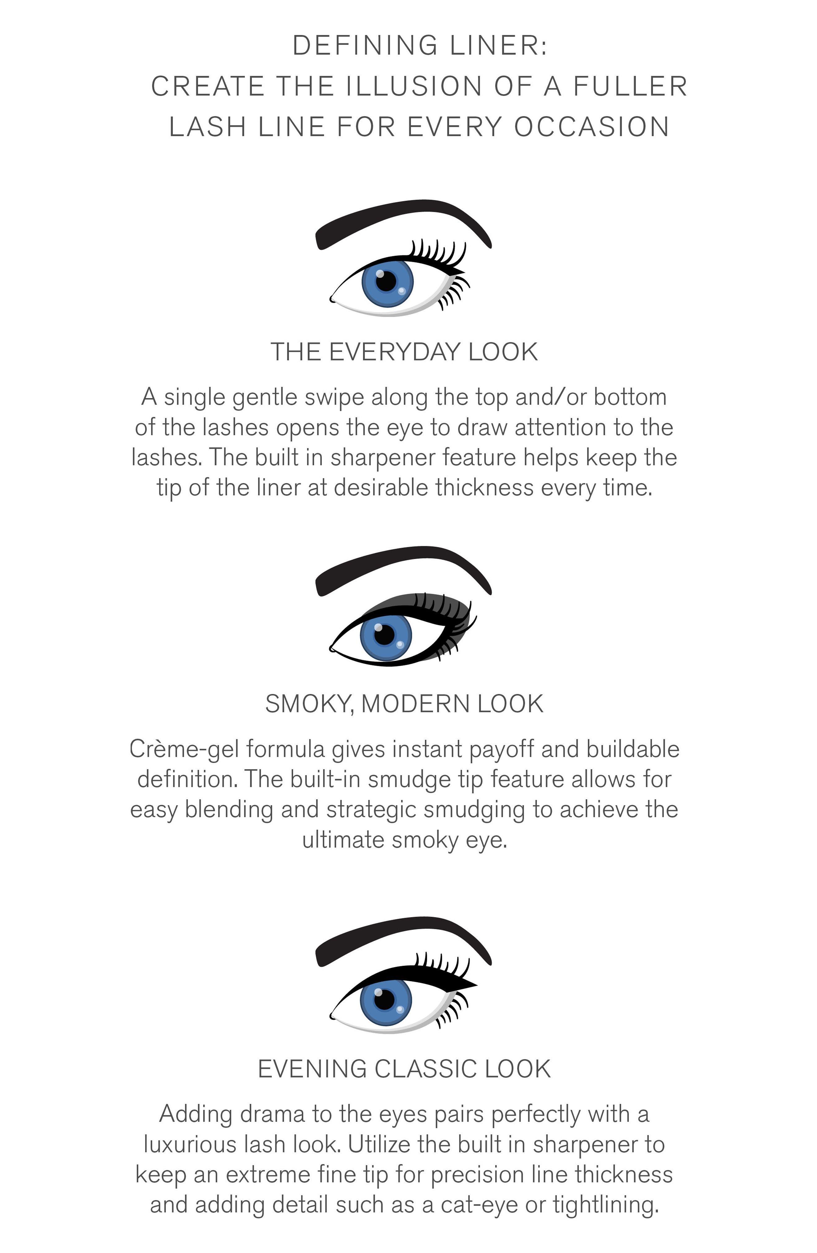 'Defining Liner' Eyeliner,                             Alternate thumbnail 4, color,                             001
