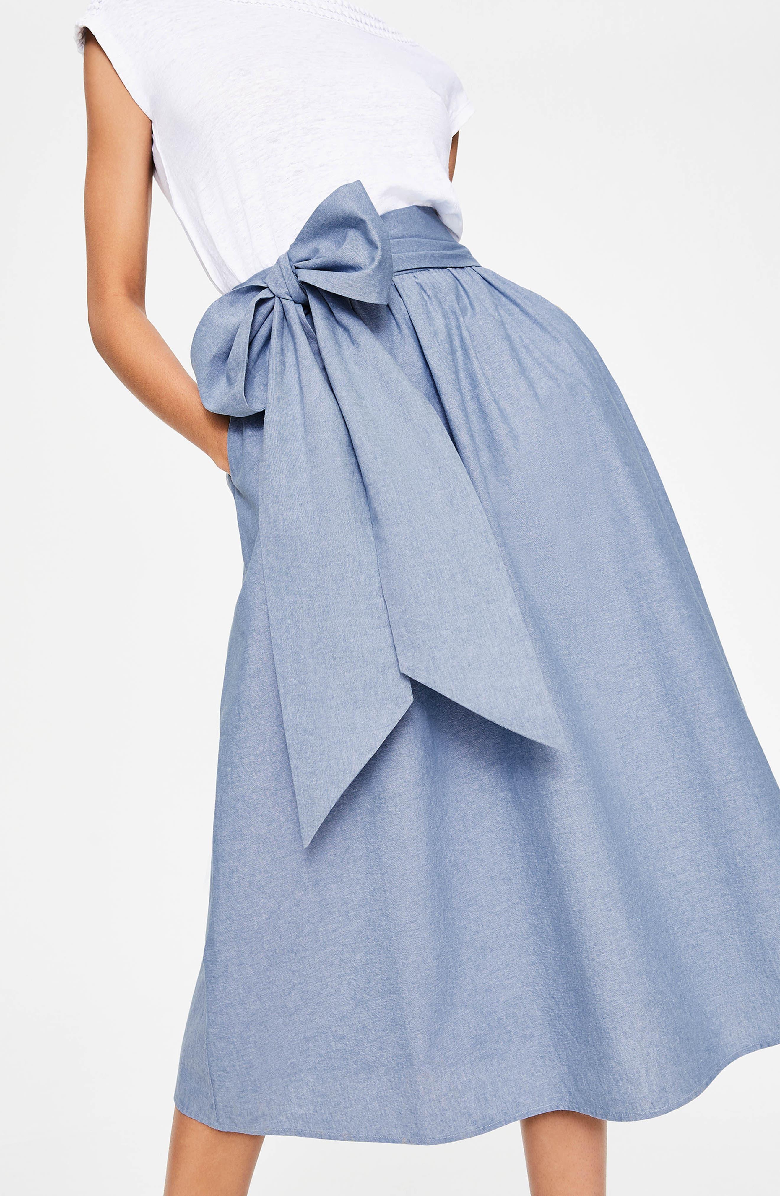 Kiera Midi Skirt,                             Alternate thumbnail 4, color,                             469