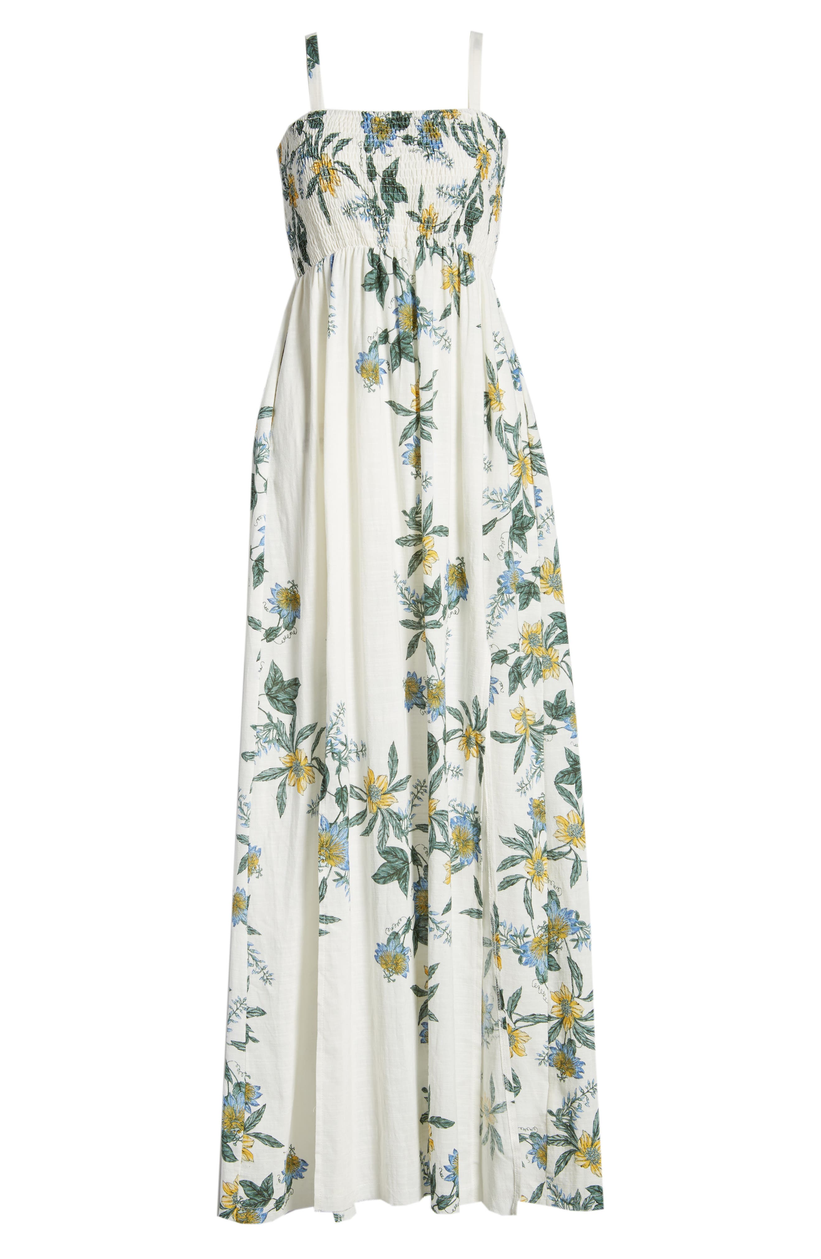 SOMEDAYS LOVIN,                             Luscious Lands Slit Hem Maxi Dress,                             Alternate thumbnail 7, color,                             100